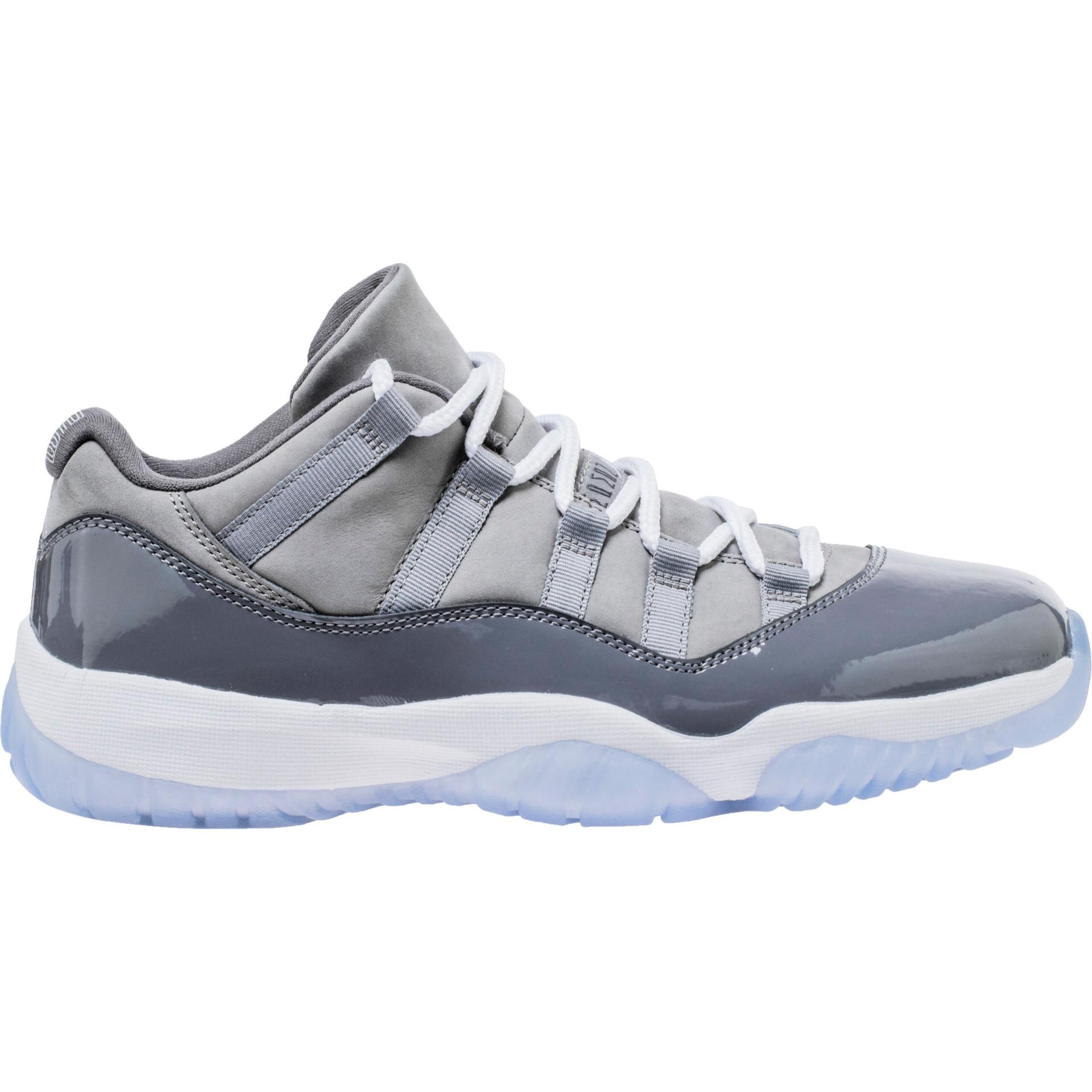 air jordan 11 low medium grey 1