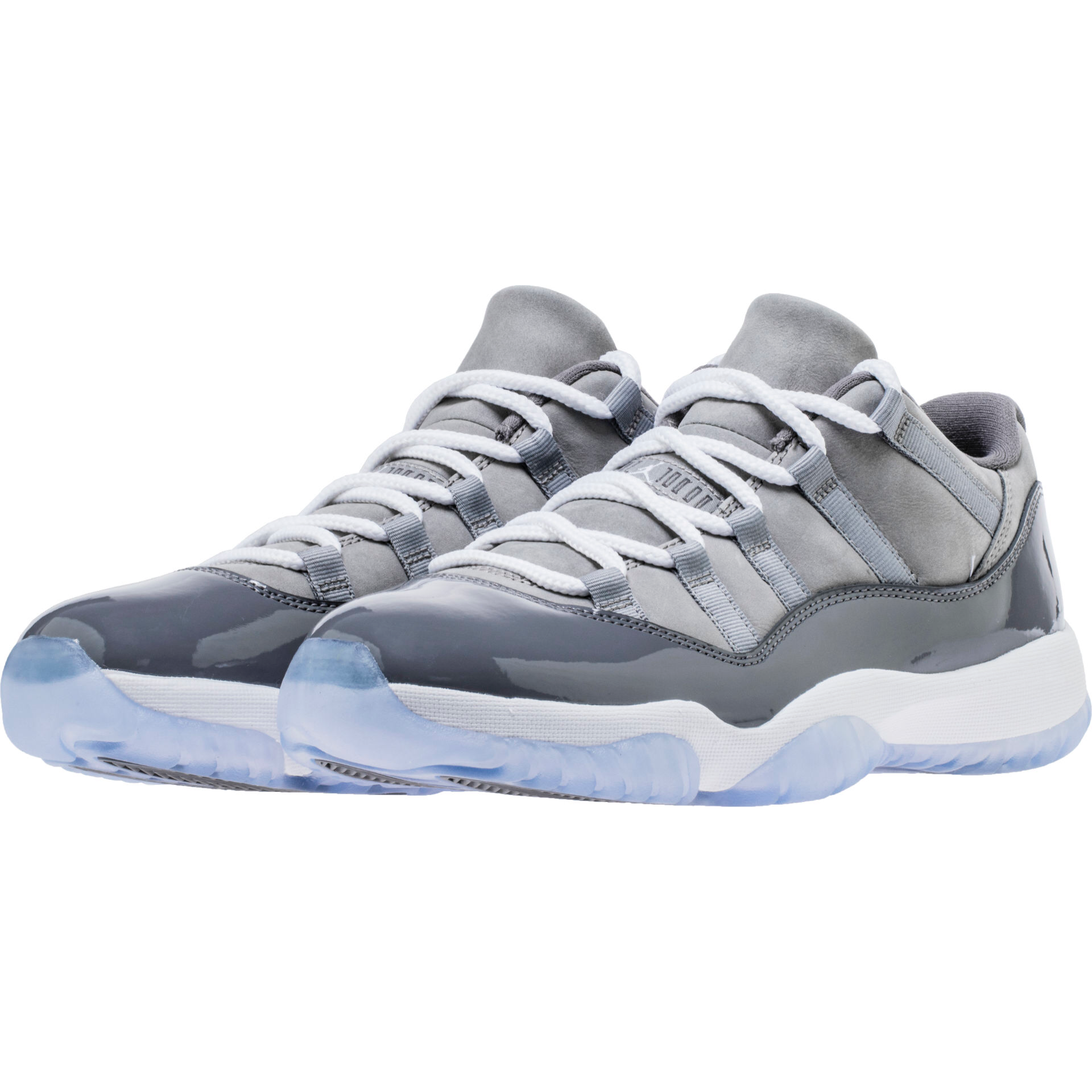 air jordan 11 low medium grey