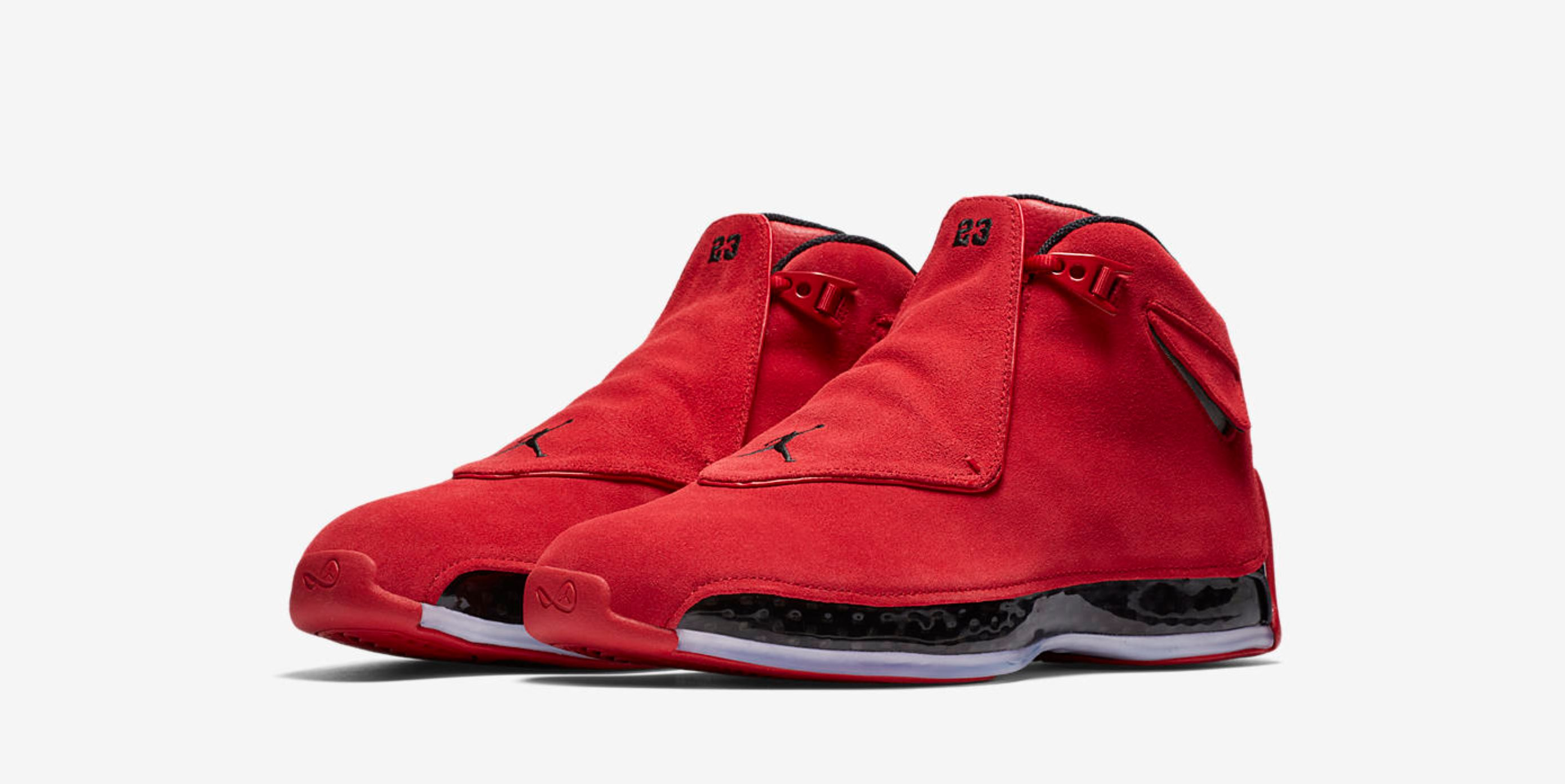 air jordan 18 gym red 5