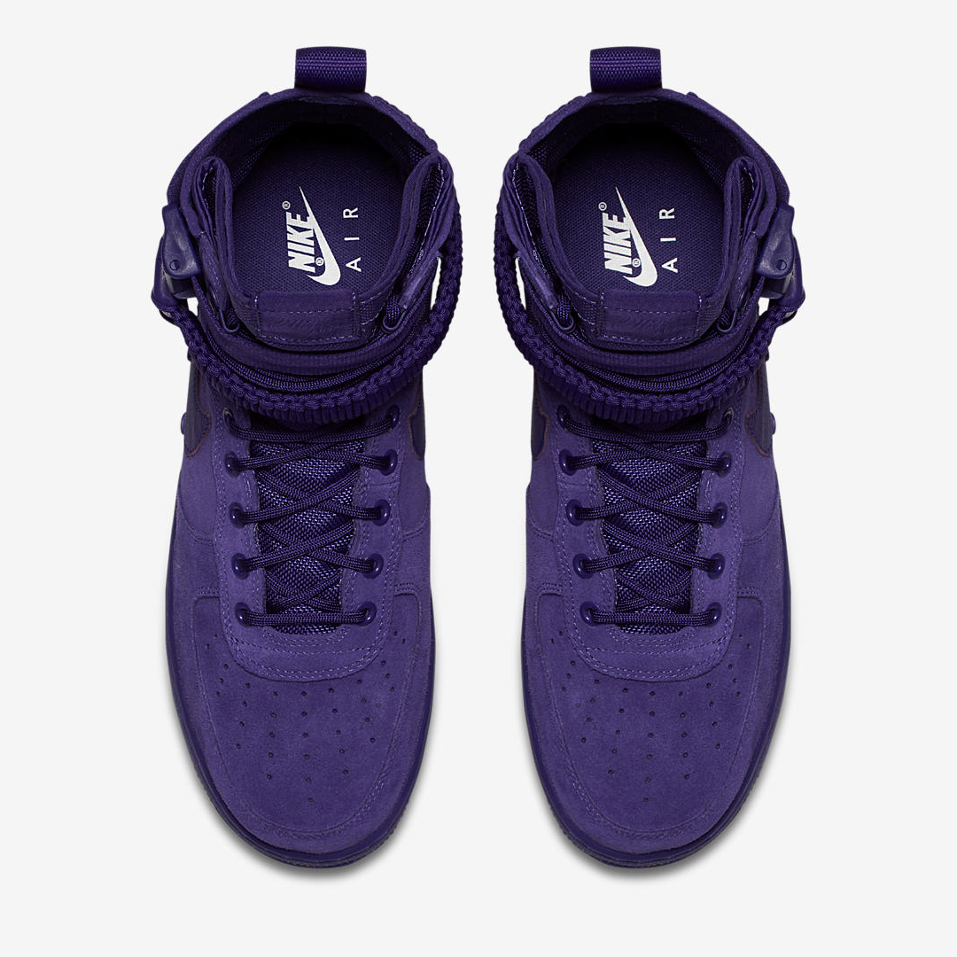 nike SF AF1 court purple