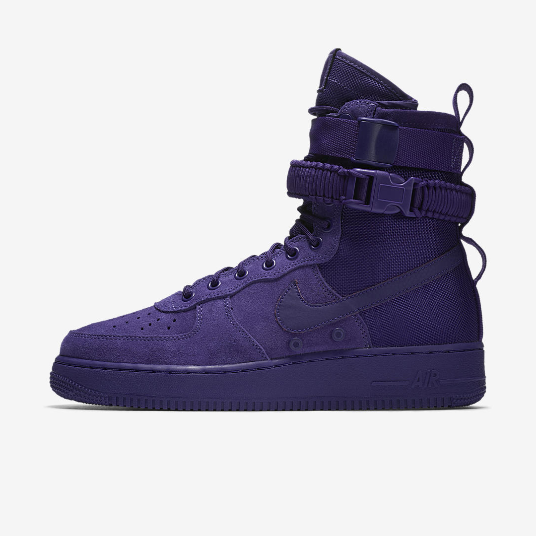 nike SF AF1 court purple 1