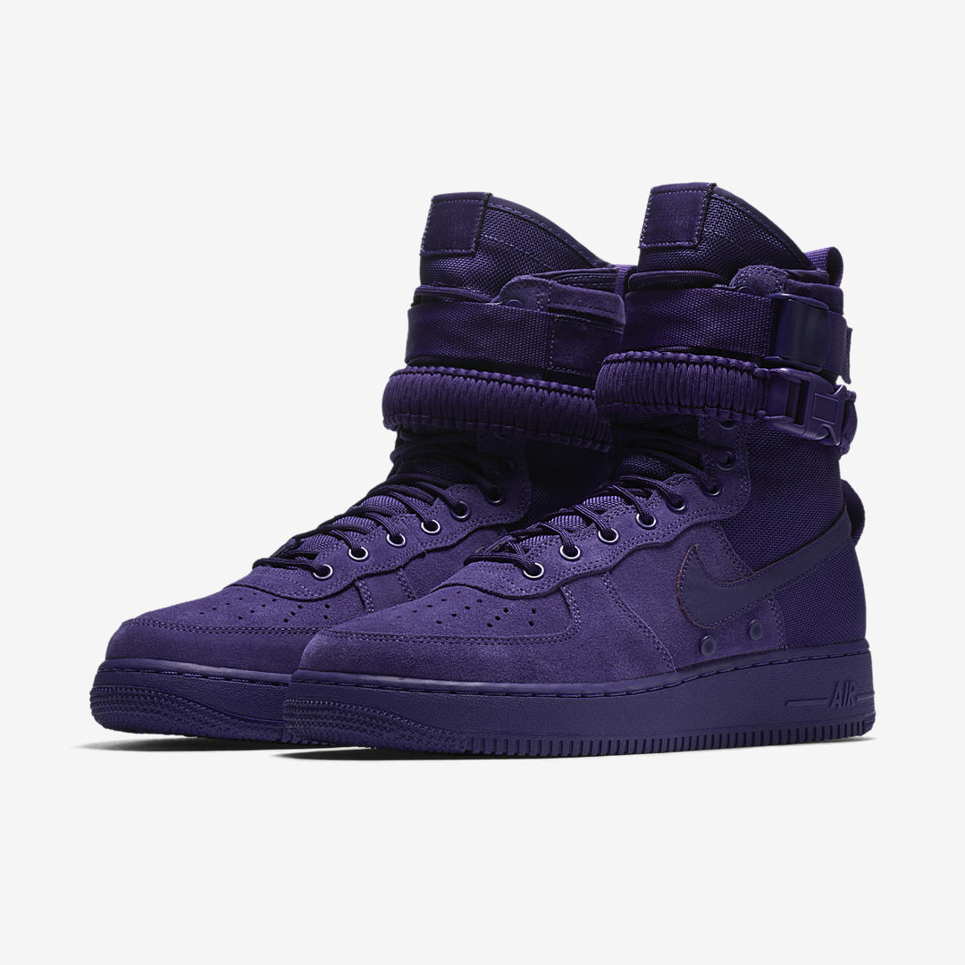 nike SF AF1 court purple 4 20