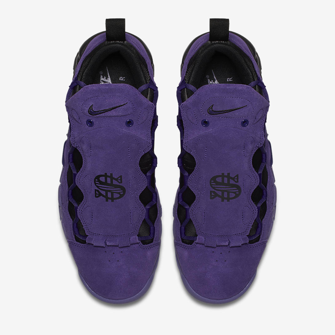nike air more money court purple quickstrike 1