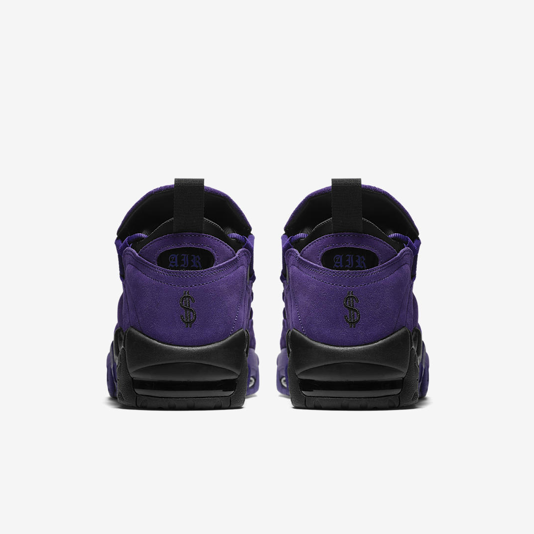 nike air more money court purple quickstrike 4