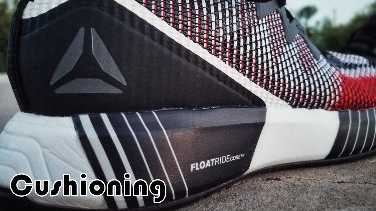 Reebok Fusion Flexweave Performance Review cushioning