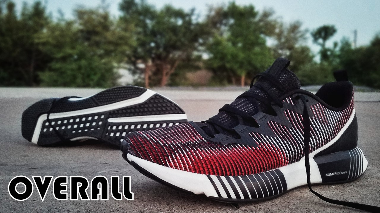 Reebok Fusion Flexweave Performance Review overall