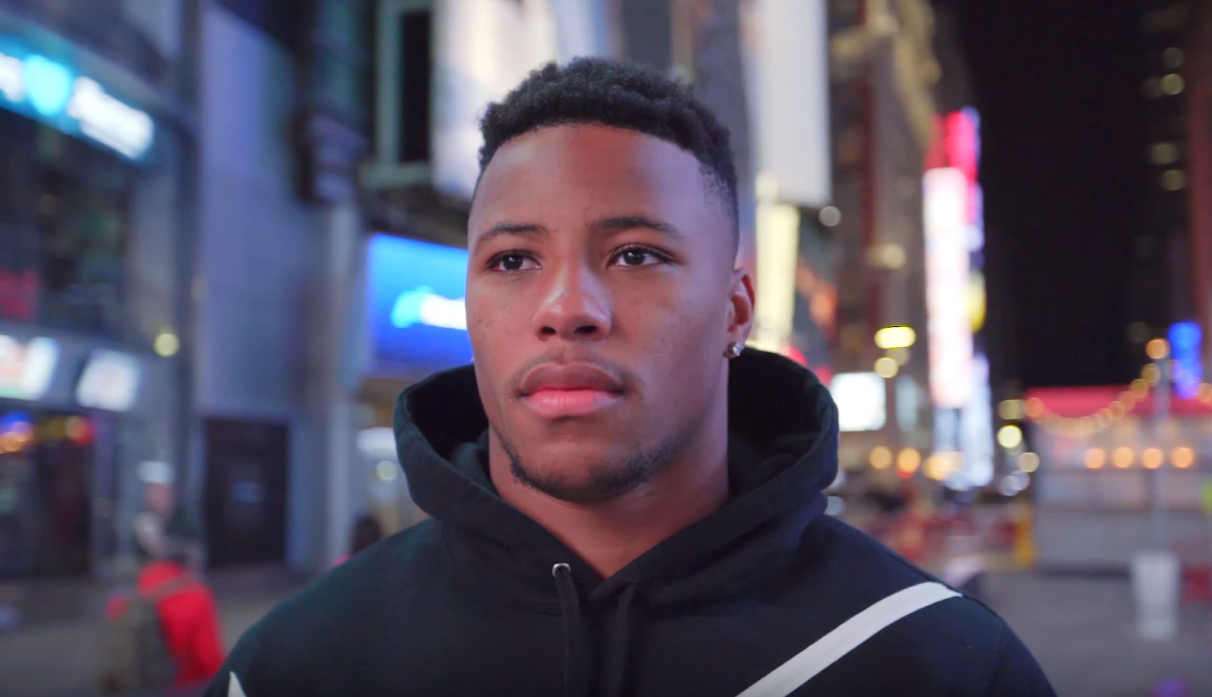 saquon barkley sneaker shopping