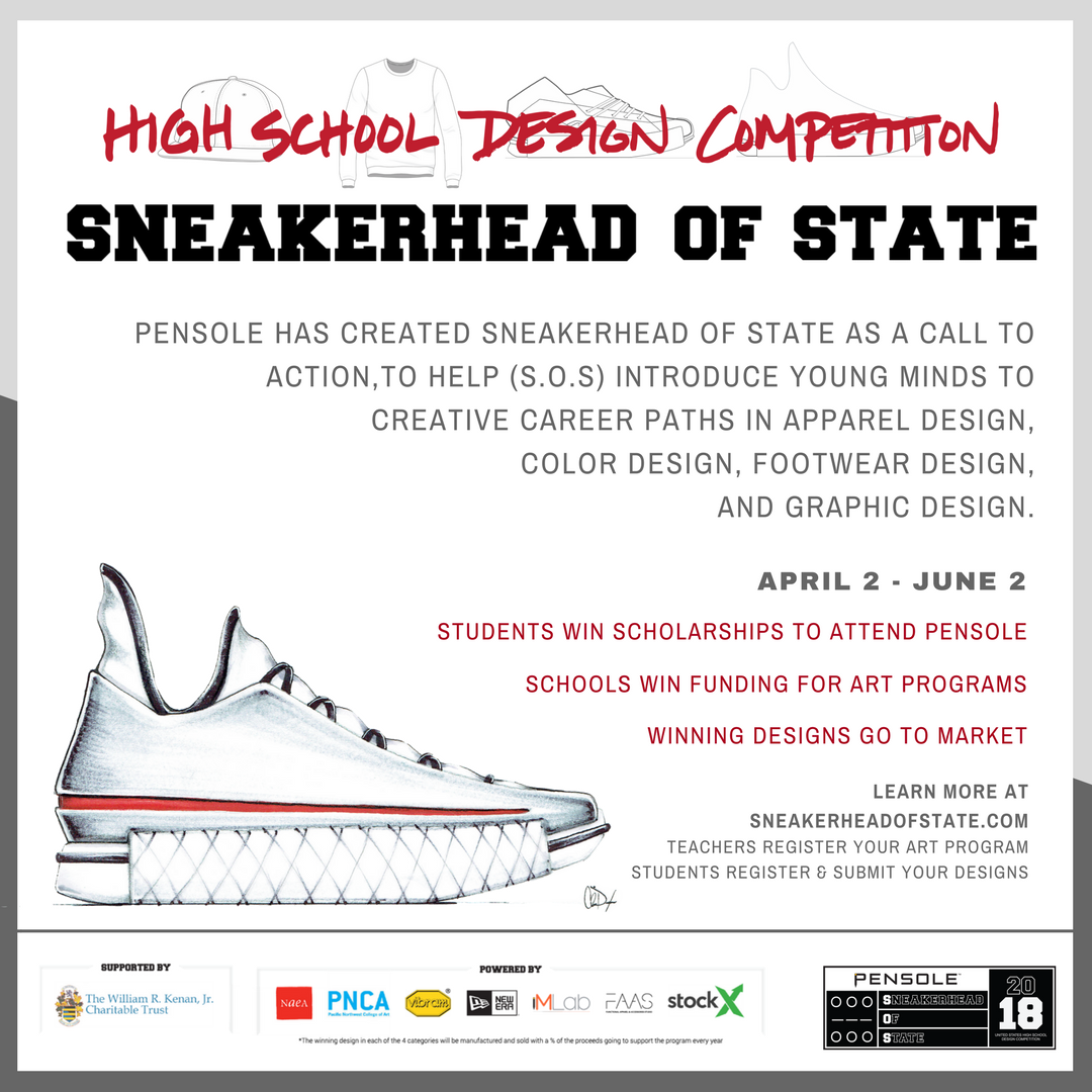 sneakerhead of state design competition