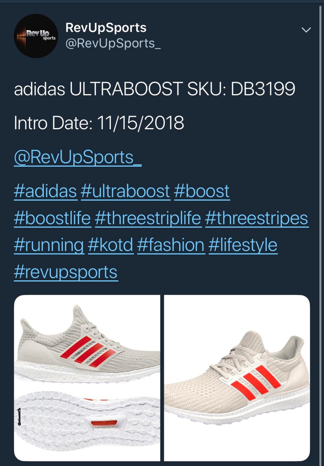 2018 ultra boost releases rev up sports