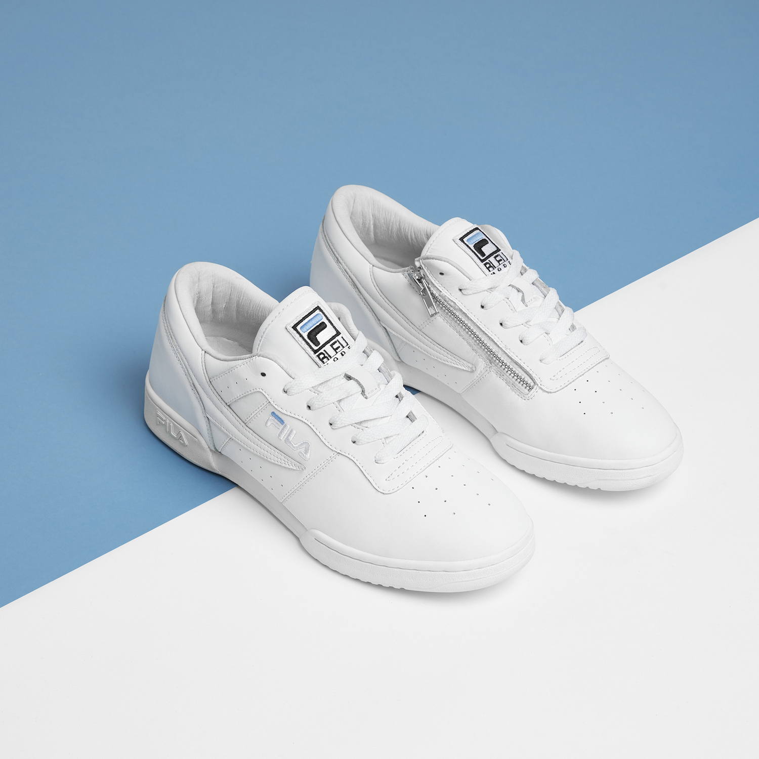 Fila Original Fitness Zipper X Bleu Mode 1