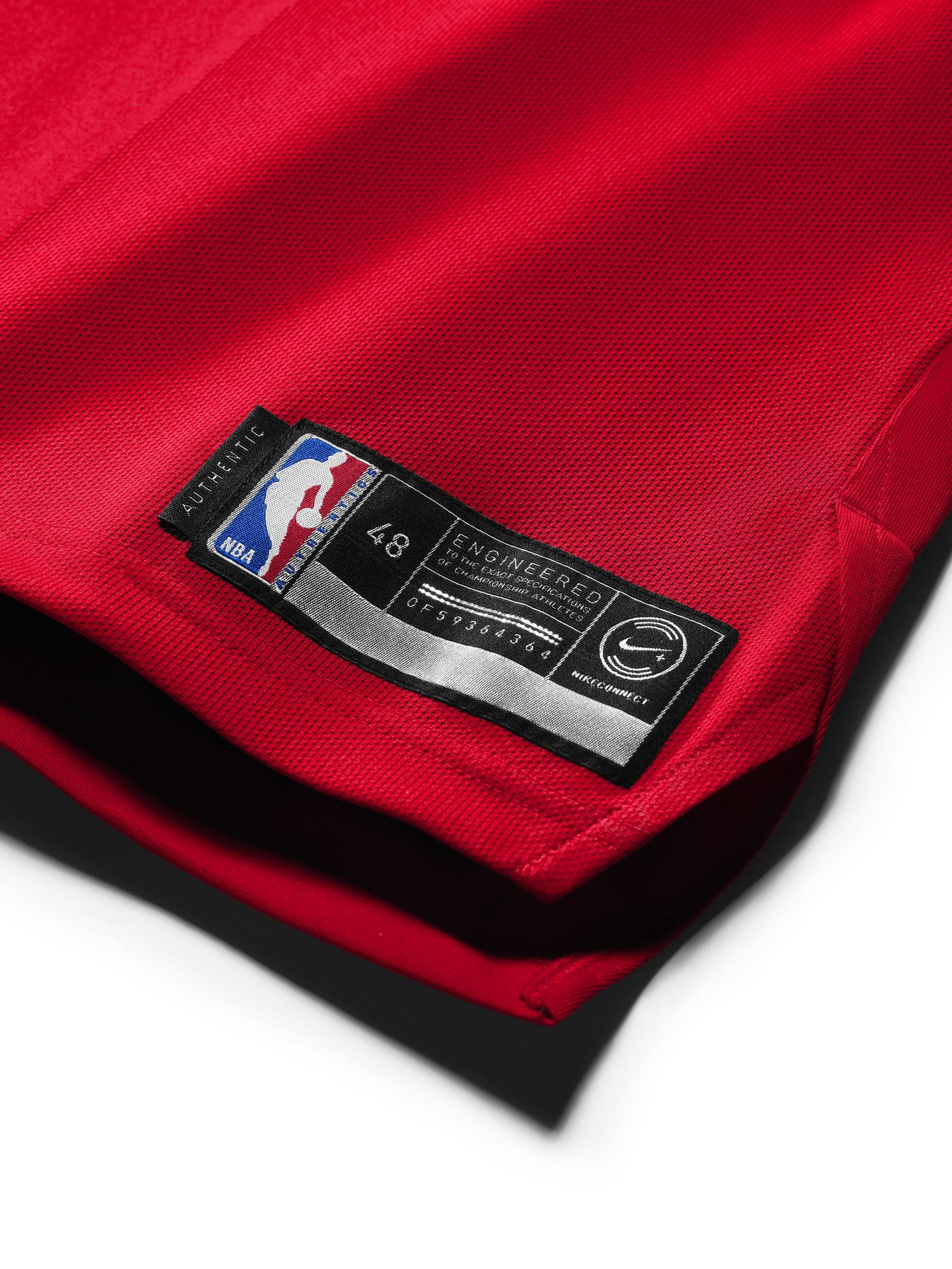 Michael Jordan authentic jersey last shot