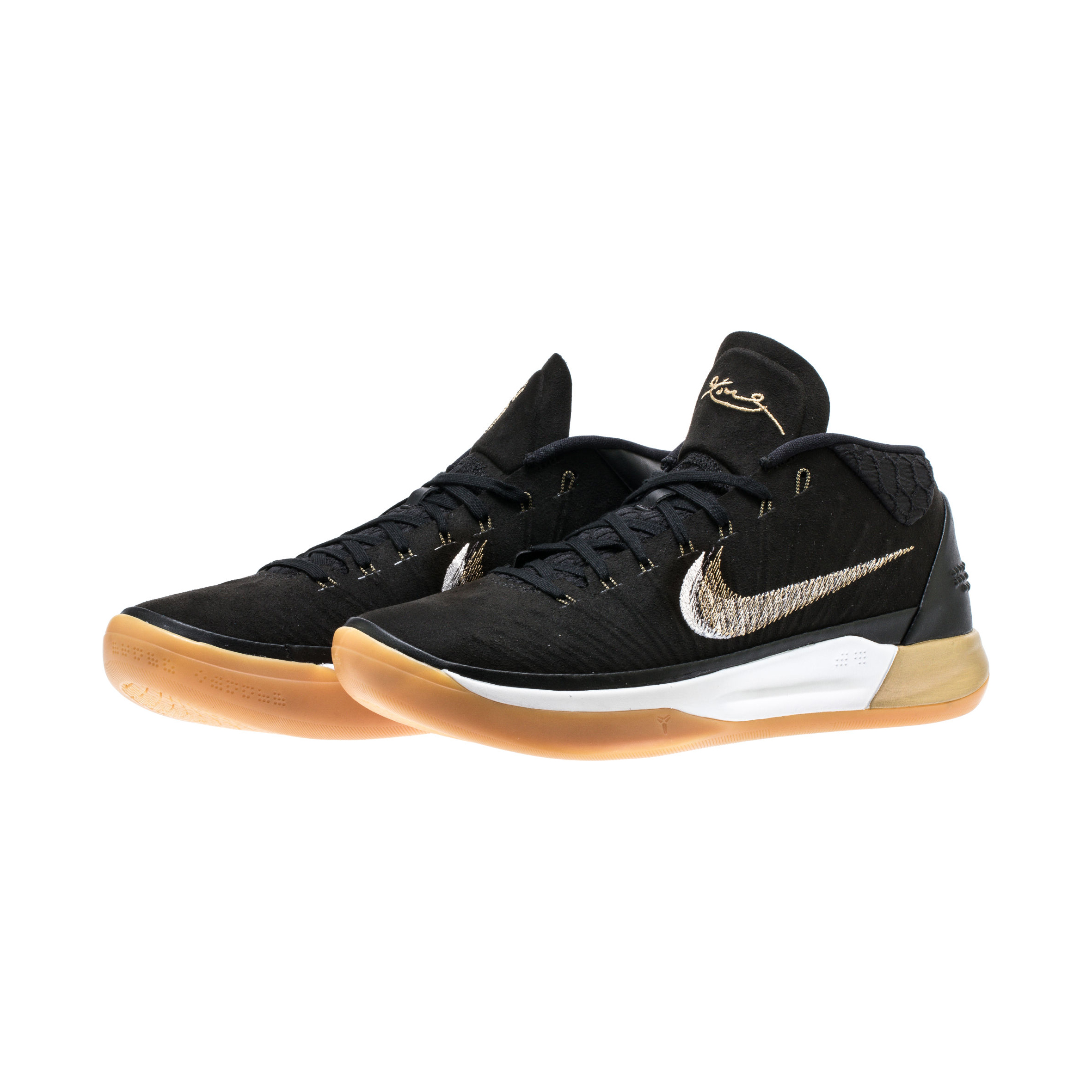 super popular 7d7d0 6a8ce NIKE KOBE A.D. BLACK:METALLIC GOLD:ANTHRACITE:LIGHT GUM 1 ...