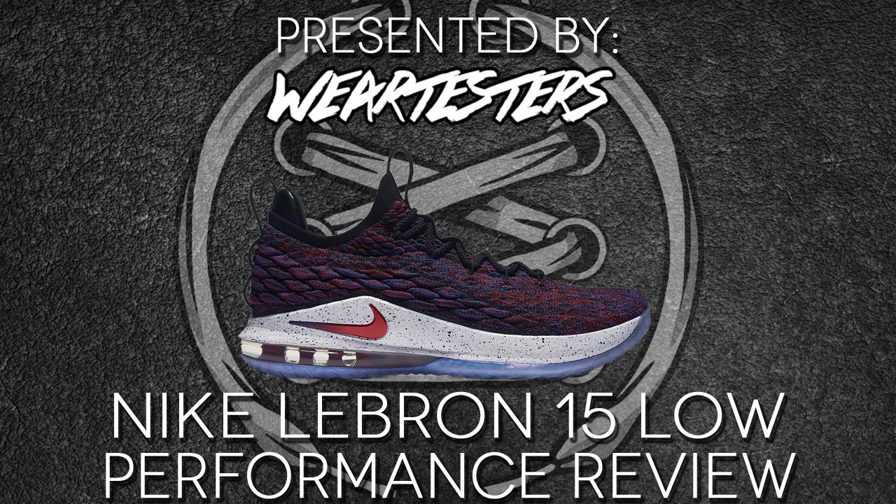 Nike LeBron 15 Low Performance Review Duke4005