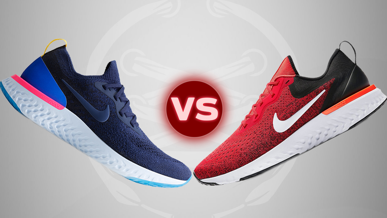 Nike-Odyssey-React-VS-Nike-Epic-React-Flyknit