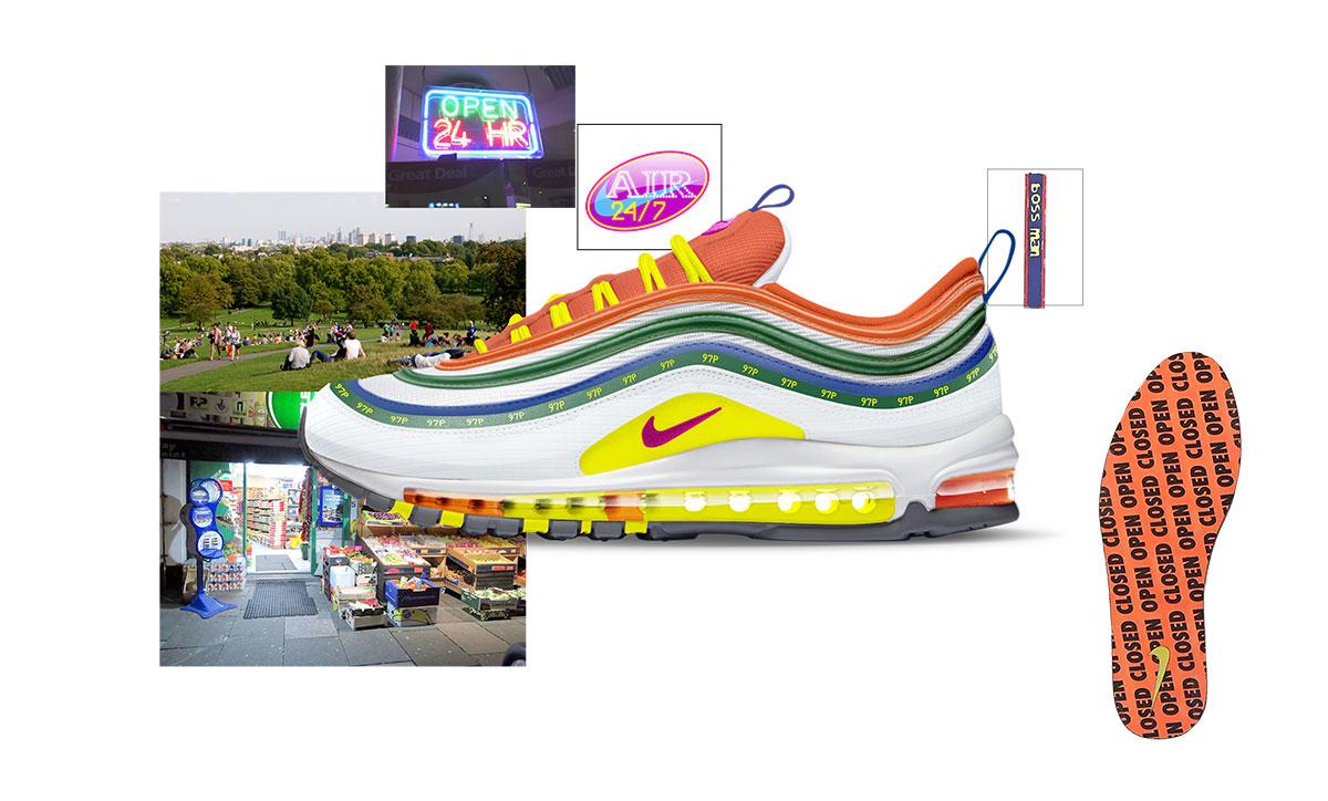 Nike on air voting london air max 97 summer of love jasmine