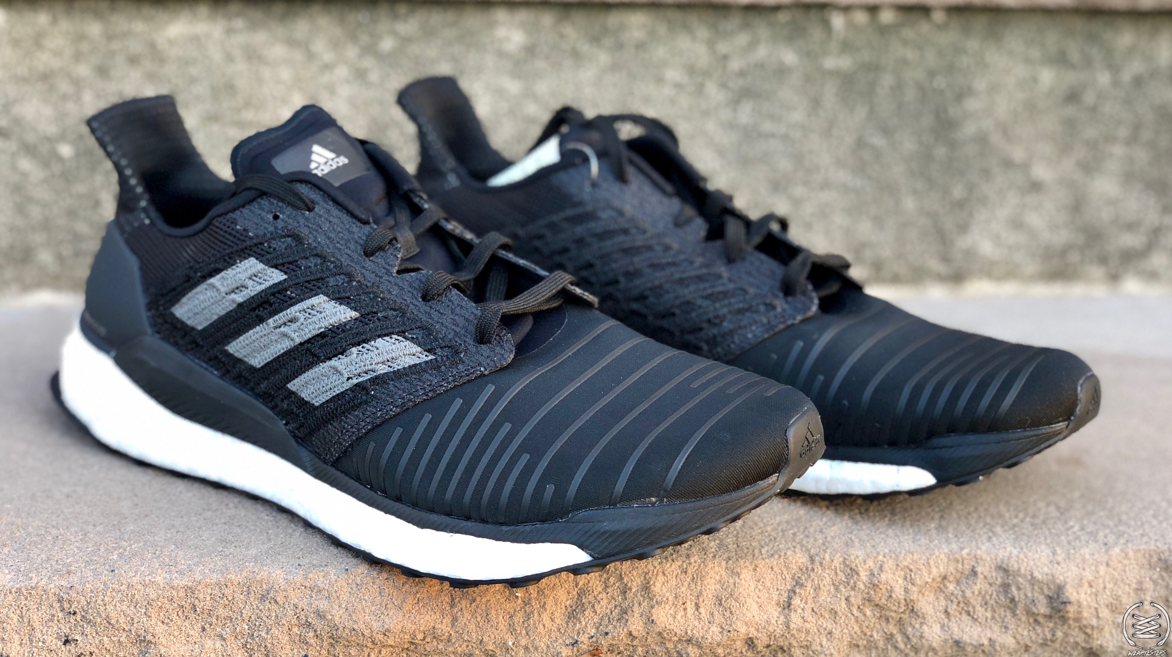adidas solarboost black grey 2