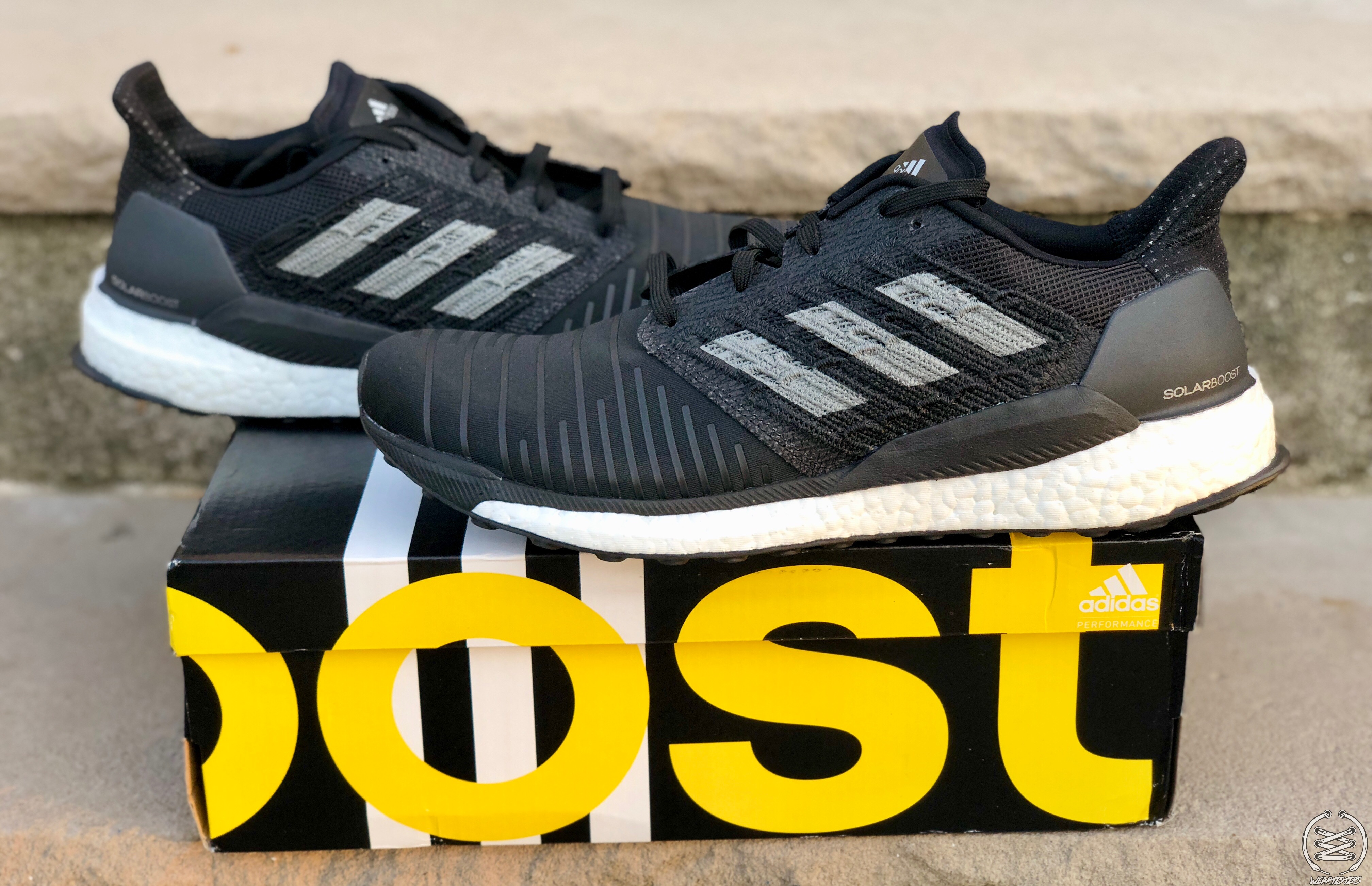 adidas solarboost black grey 5