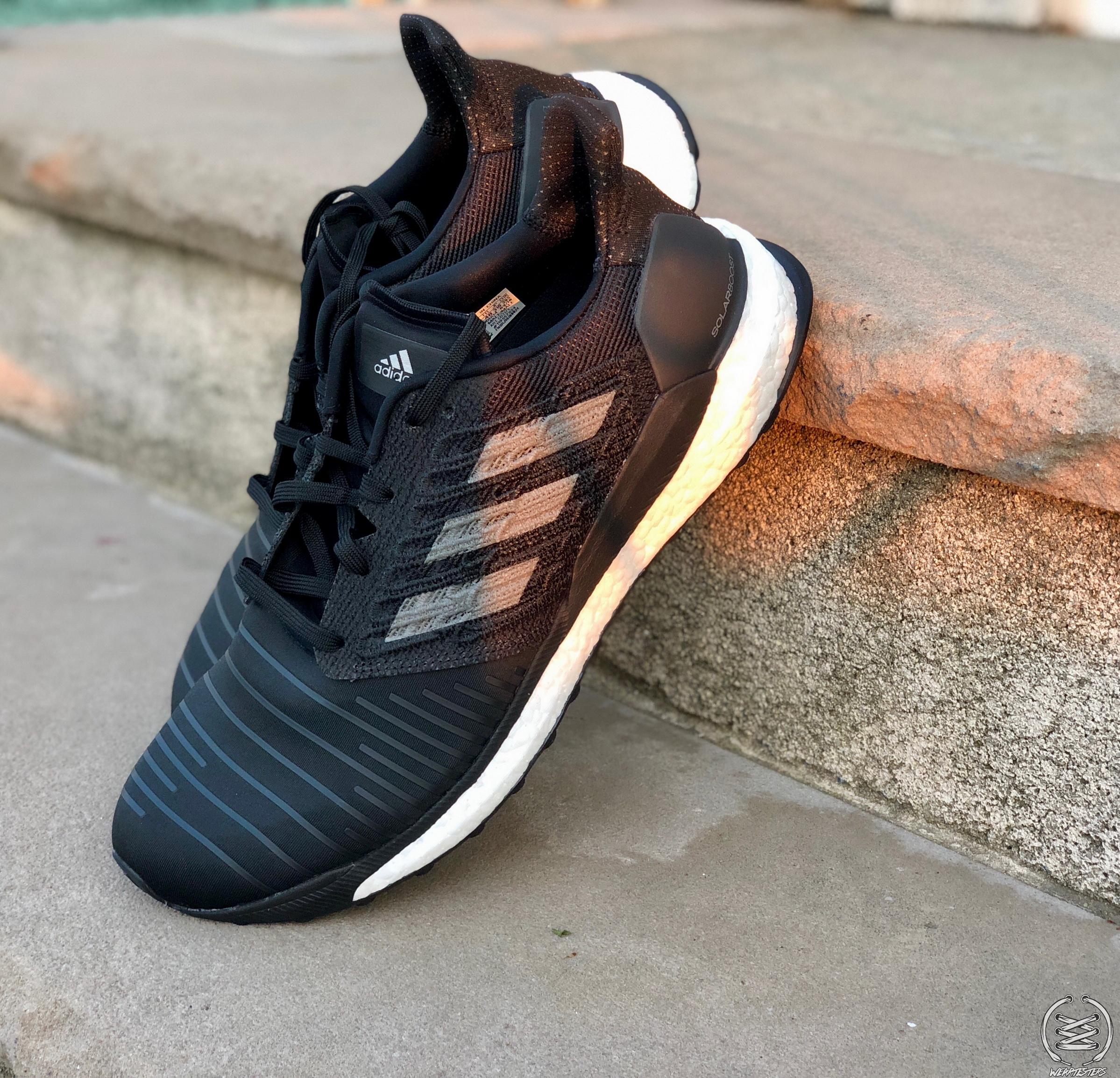 adidas solarboost black grey