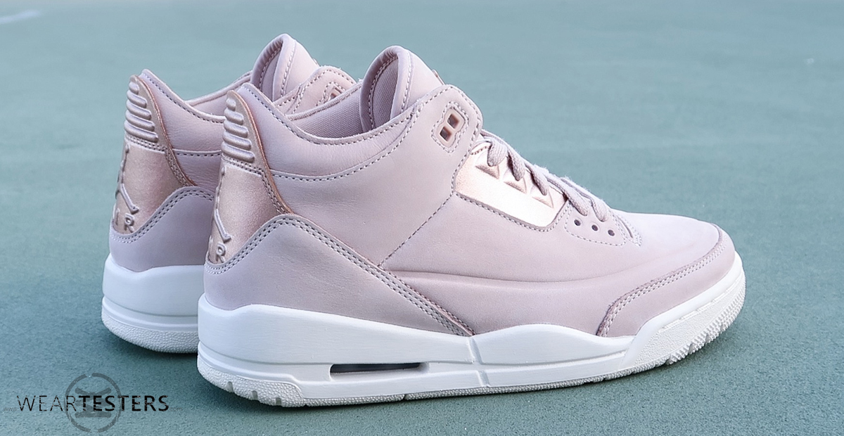 timeless design 58692 2d635 Detailed Look at the Women's Air Jordan 3 'Rose Gold ...