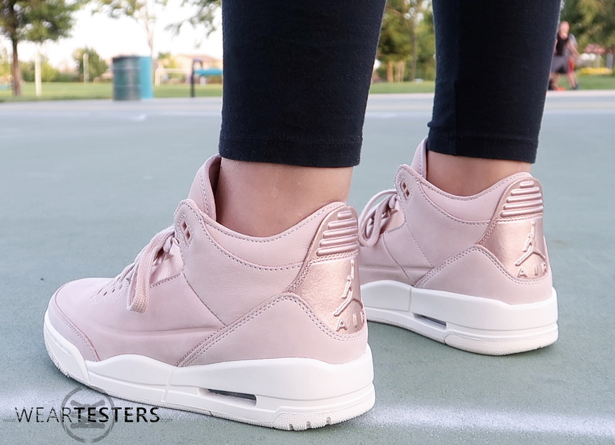 timeless design 6dc9c 2893e Detailed Look at the Women's Air Jordan 3 'Rose Gold ...