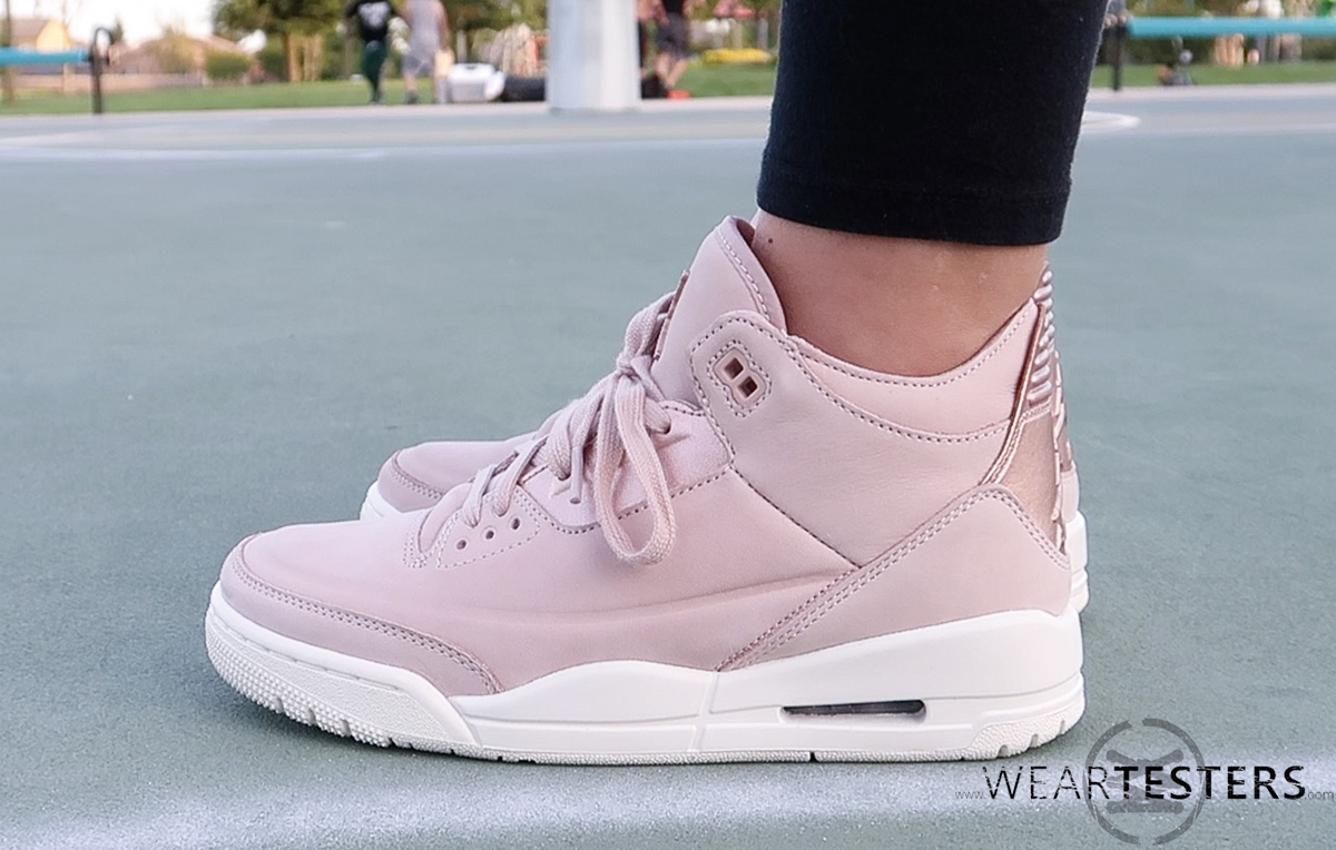 timeless design d2acf 91d6b Detailed Look at the Women's Air Jordan 3 'Rose Gold ...
