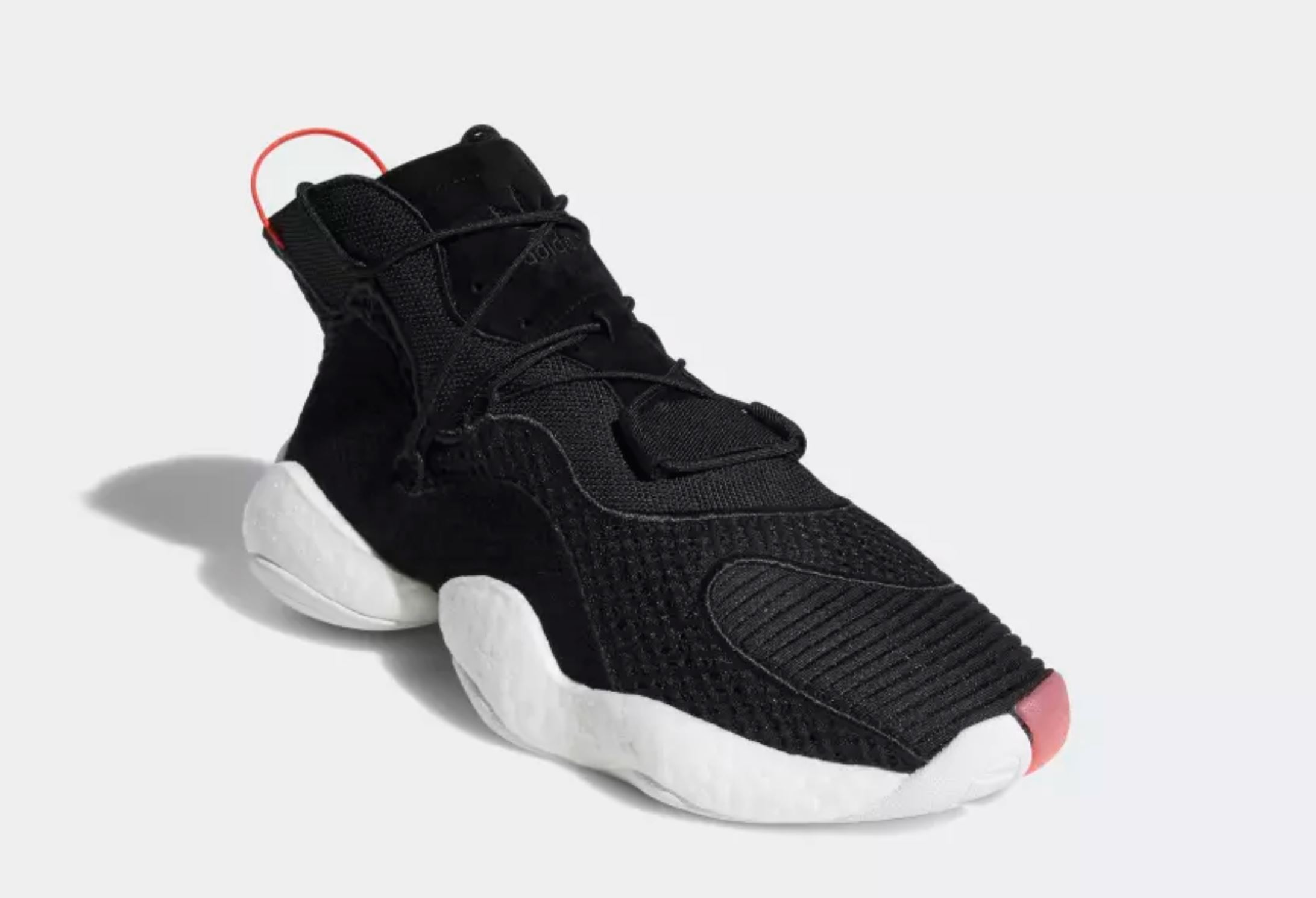 adidas crazy BYW black red 3
