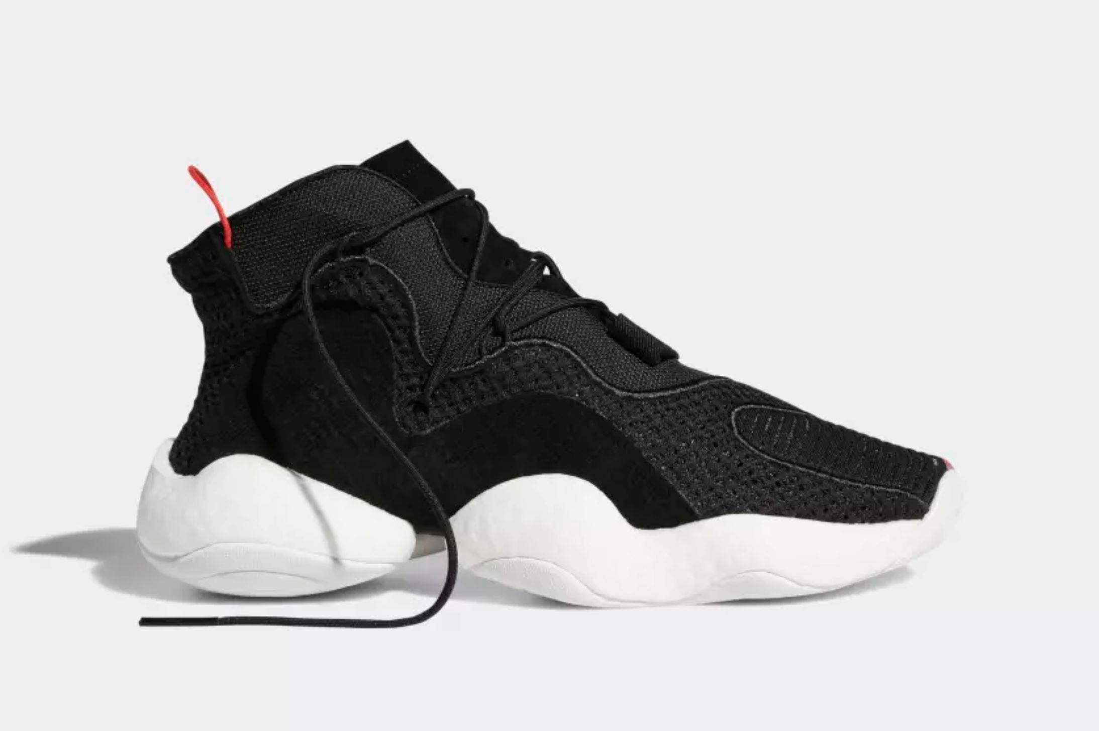 adidas crazy BYW black red 5