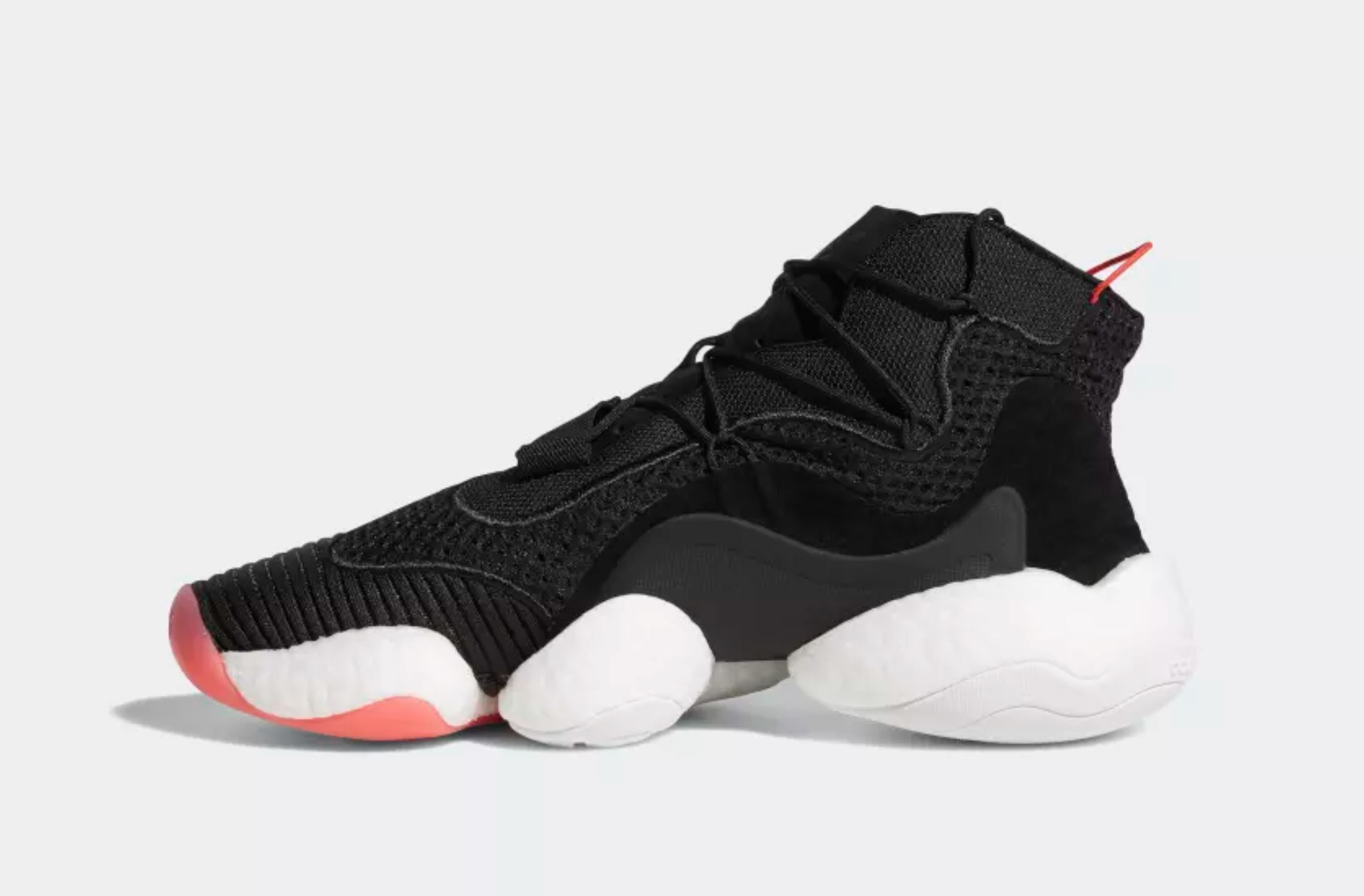 adidas crazy BYW black red 6