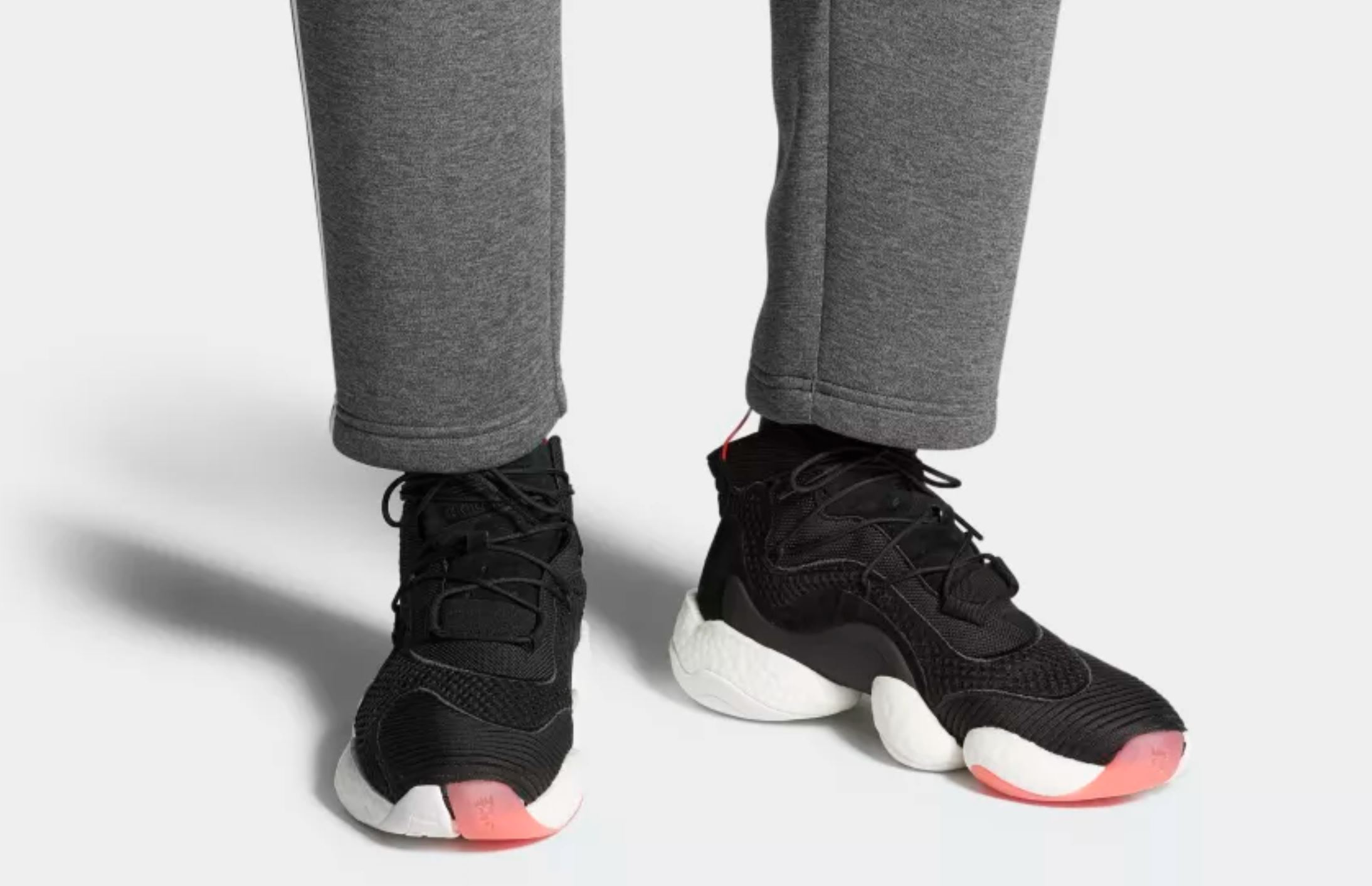 adidas crazy BYW black red