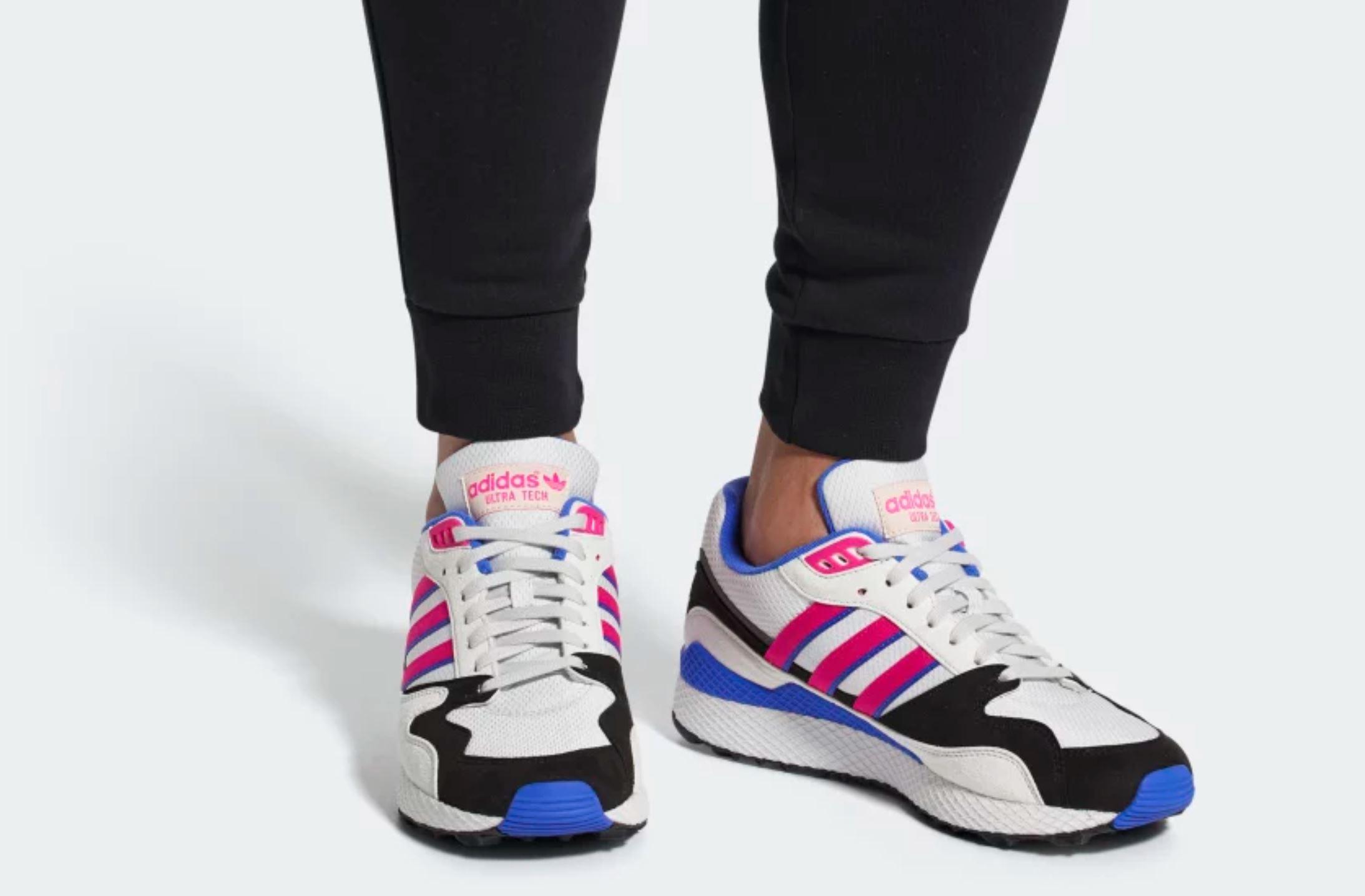 adidas ultra tech on foot 1