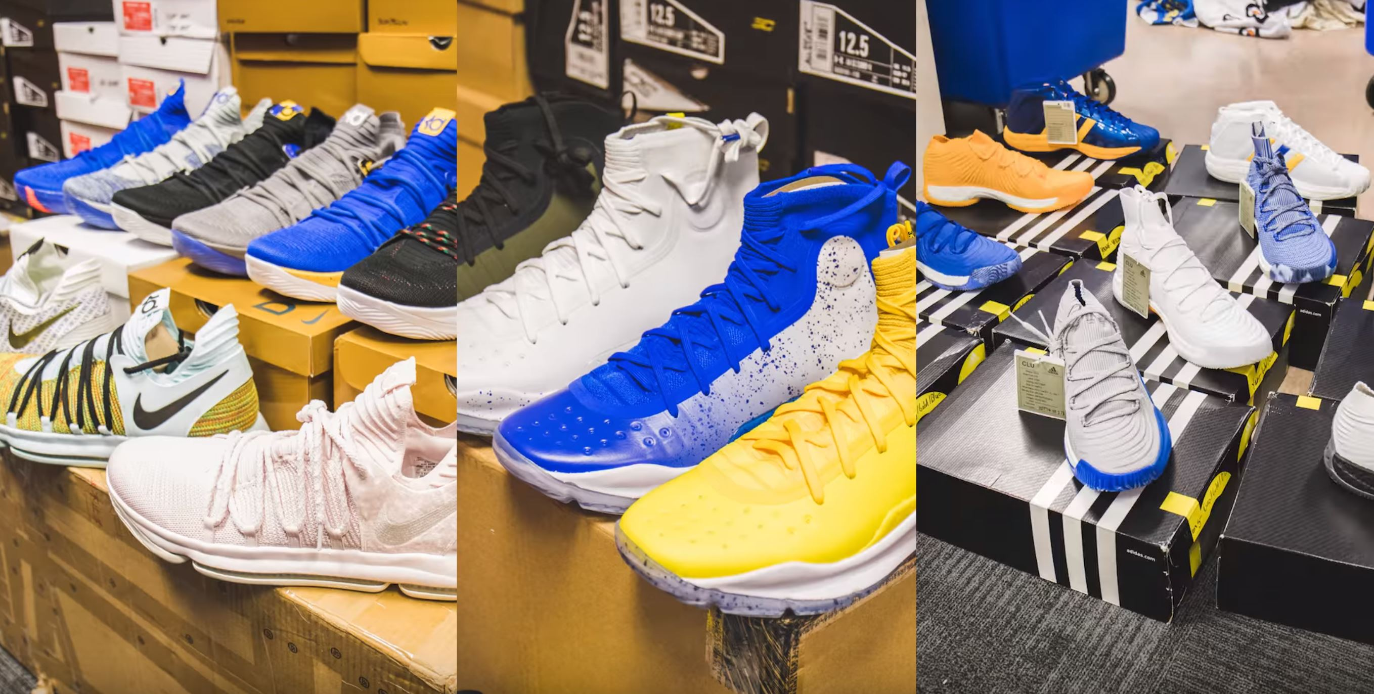 golden state warriors kevin durant sneakers stephen curry
