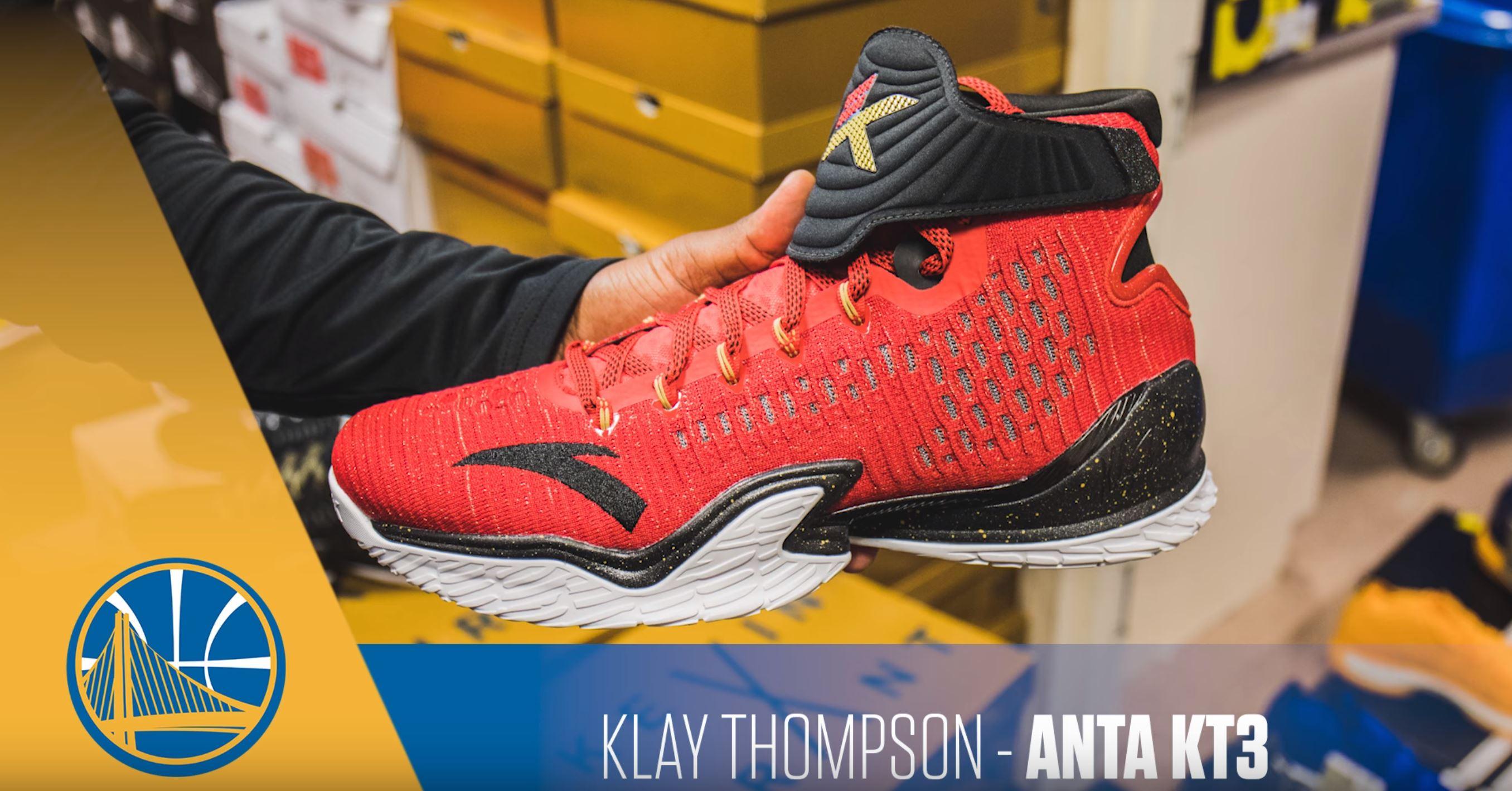 klay thompson KT3 PE