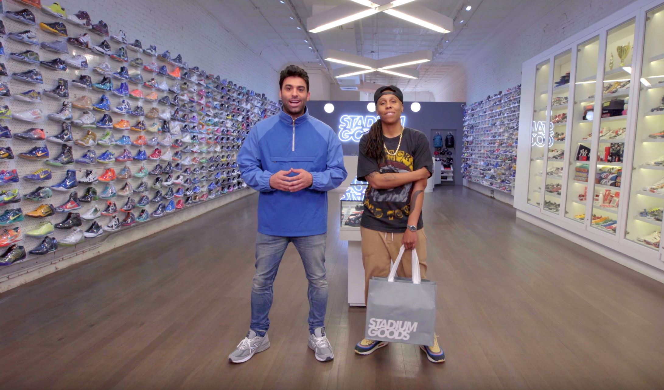 lena waithe sneaker shopping