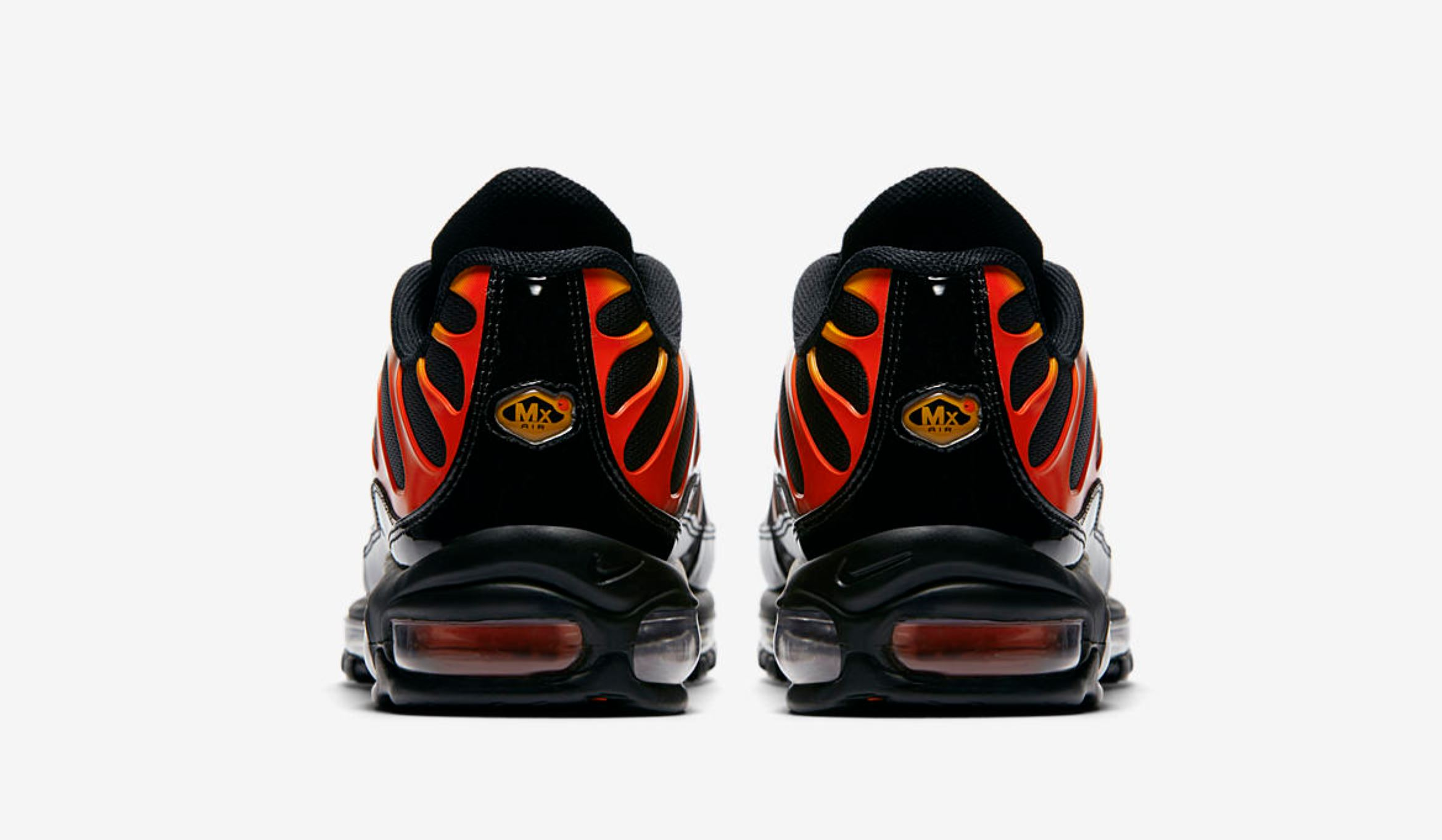Flame On With The Nike Air Max Plus 97 Shock Orange Weartesters