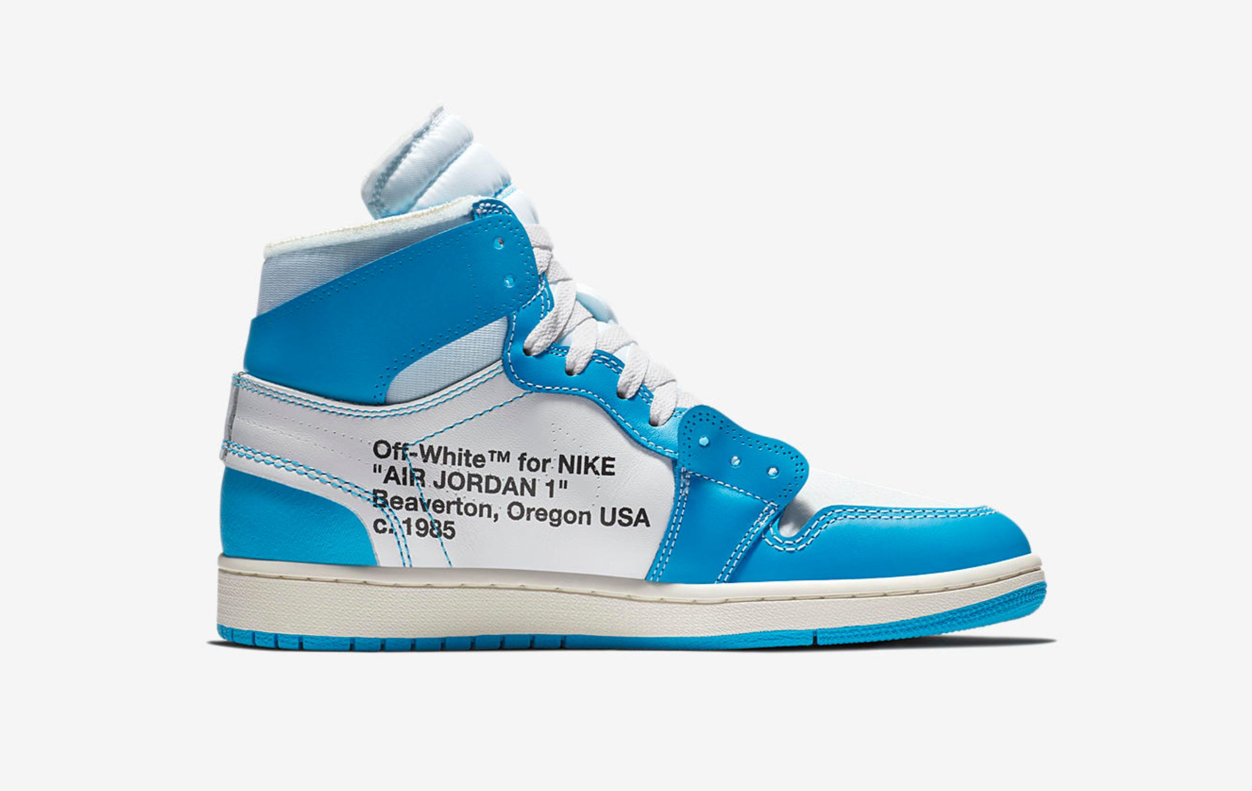 off white air jordan 1 unc release 2