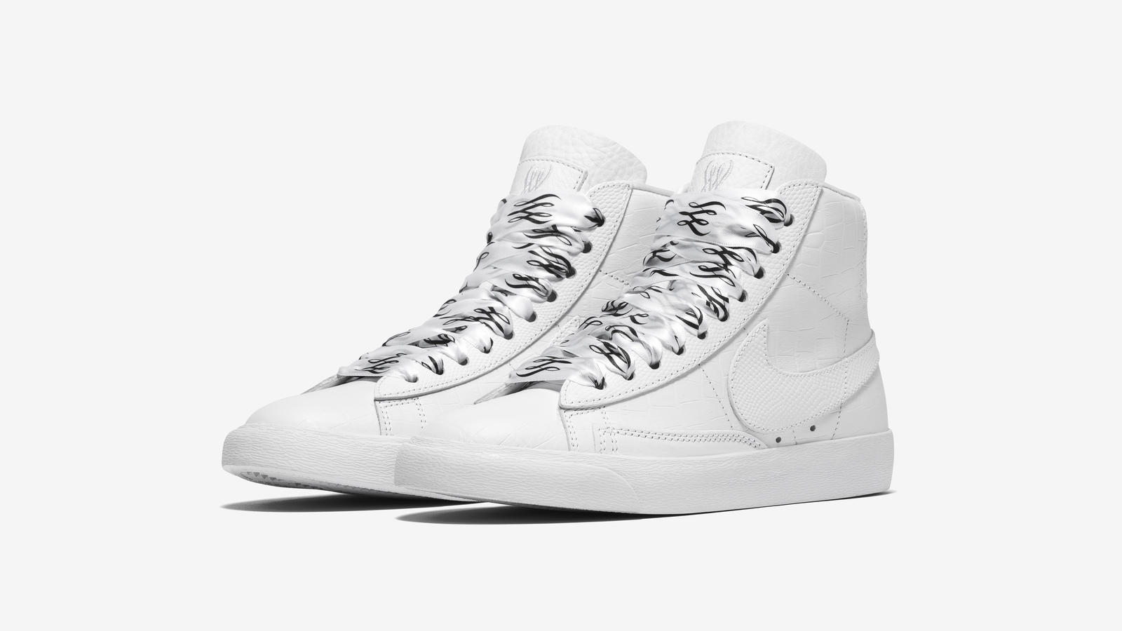 serena williams french open nike blazer mid