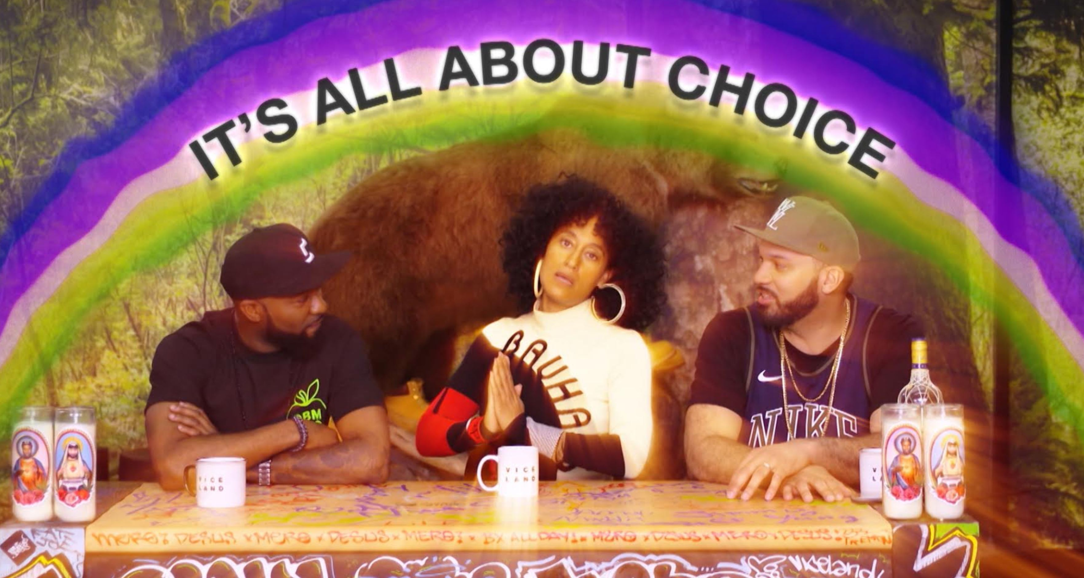 tracee ellis ross sneakers desus and mero