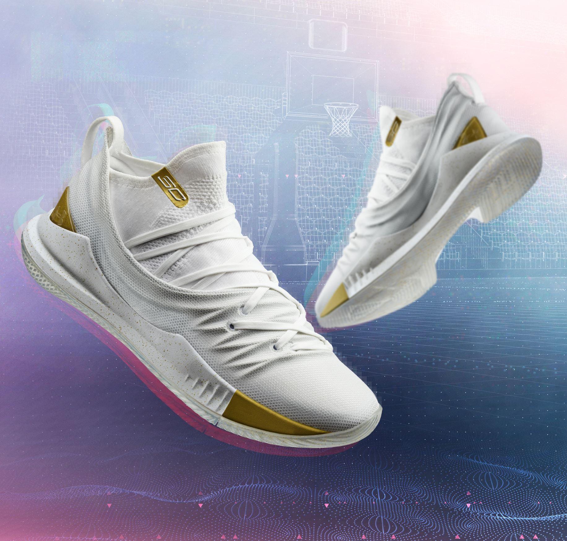 under armour curry 5 white gold