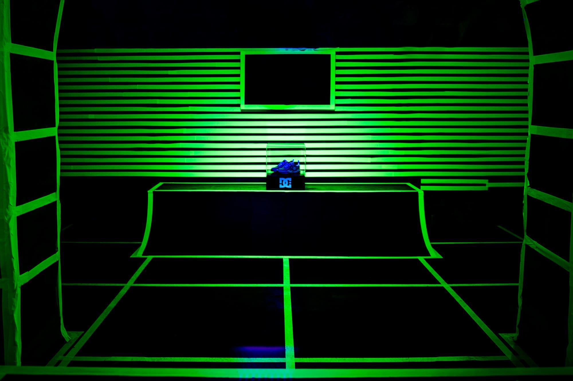 Joshua Vides glow in the dark exhibit