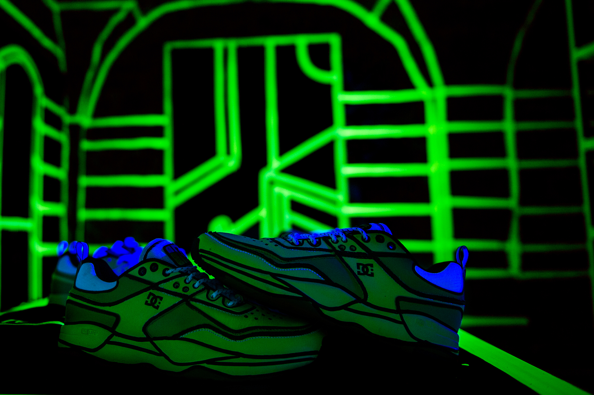 Joshua Vides reality to idea exhibit dc shoes