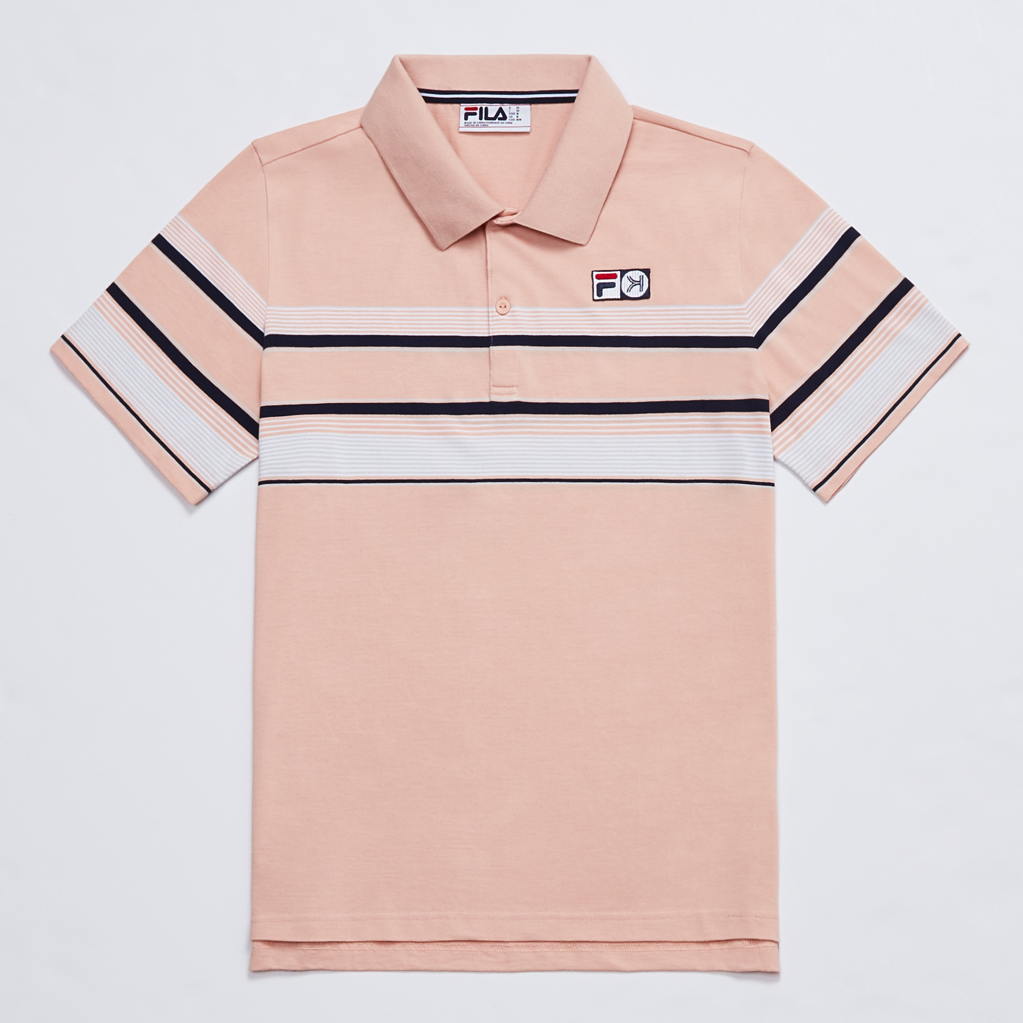 Kinfolk Fila polo evening sand