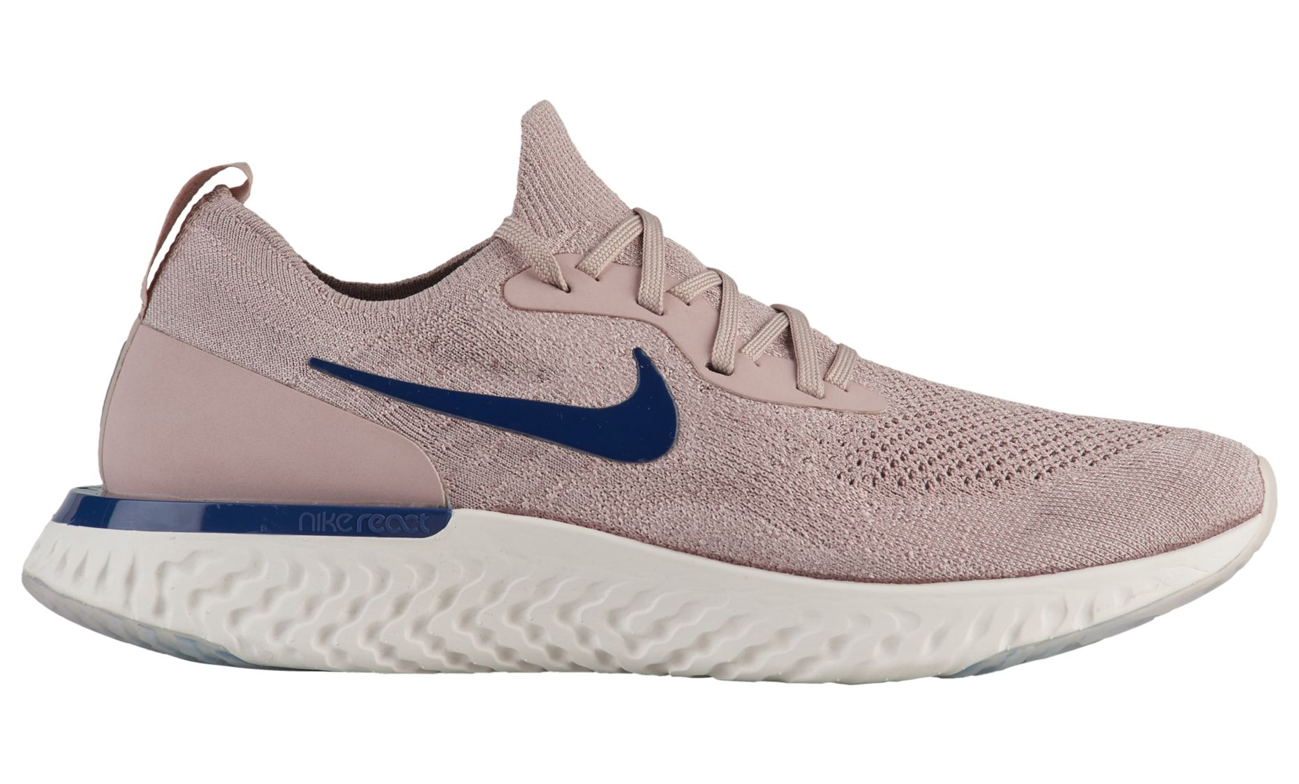 NIKE EPIC REACT FLYKNIT DIFFUSED TAUPE : BLUE VOID – PHANTOM 2