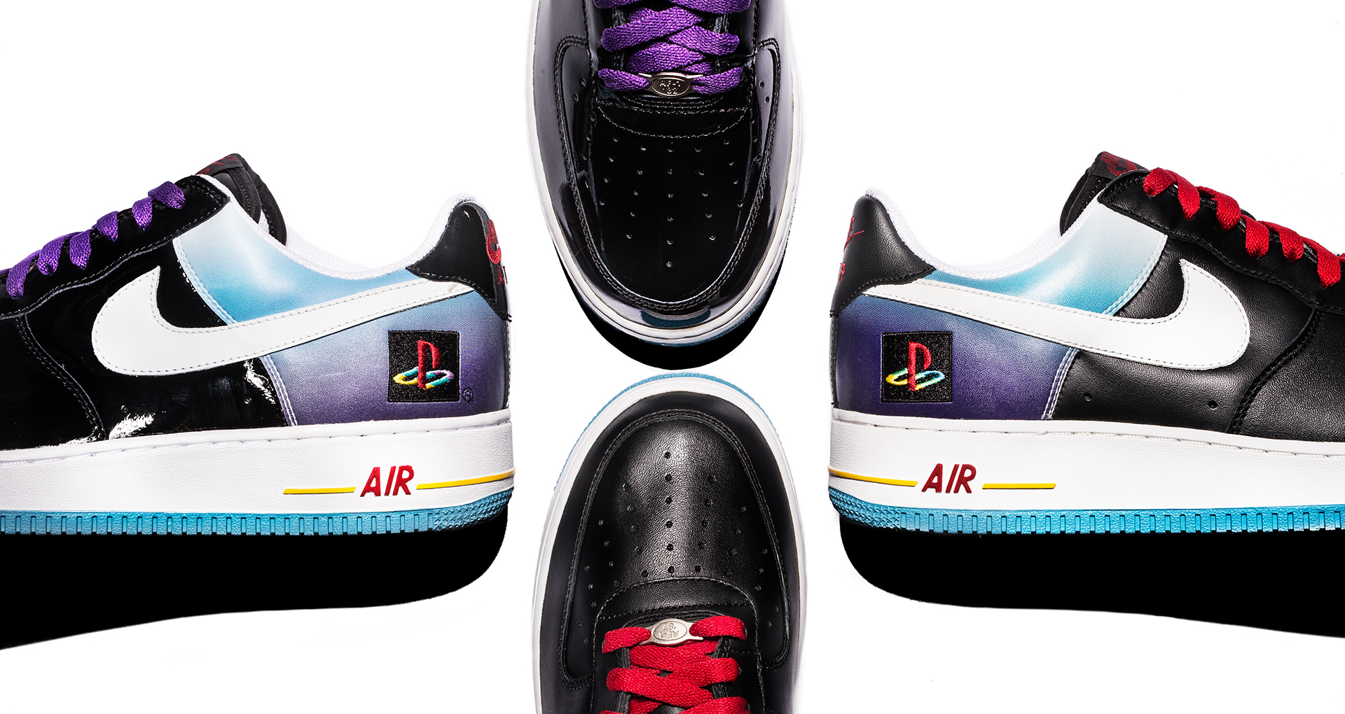 Nike Teases Playstation Collab With Never Released Air Force One4