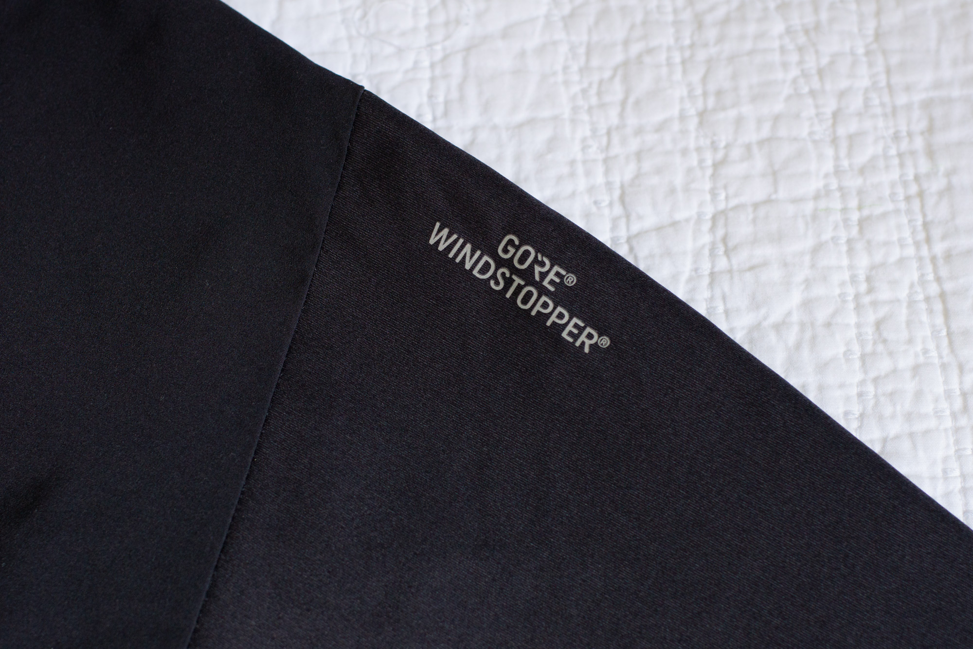 UA Unstoppable Gore Windstopper Pant close up