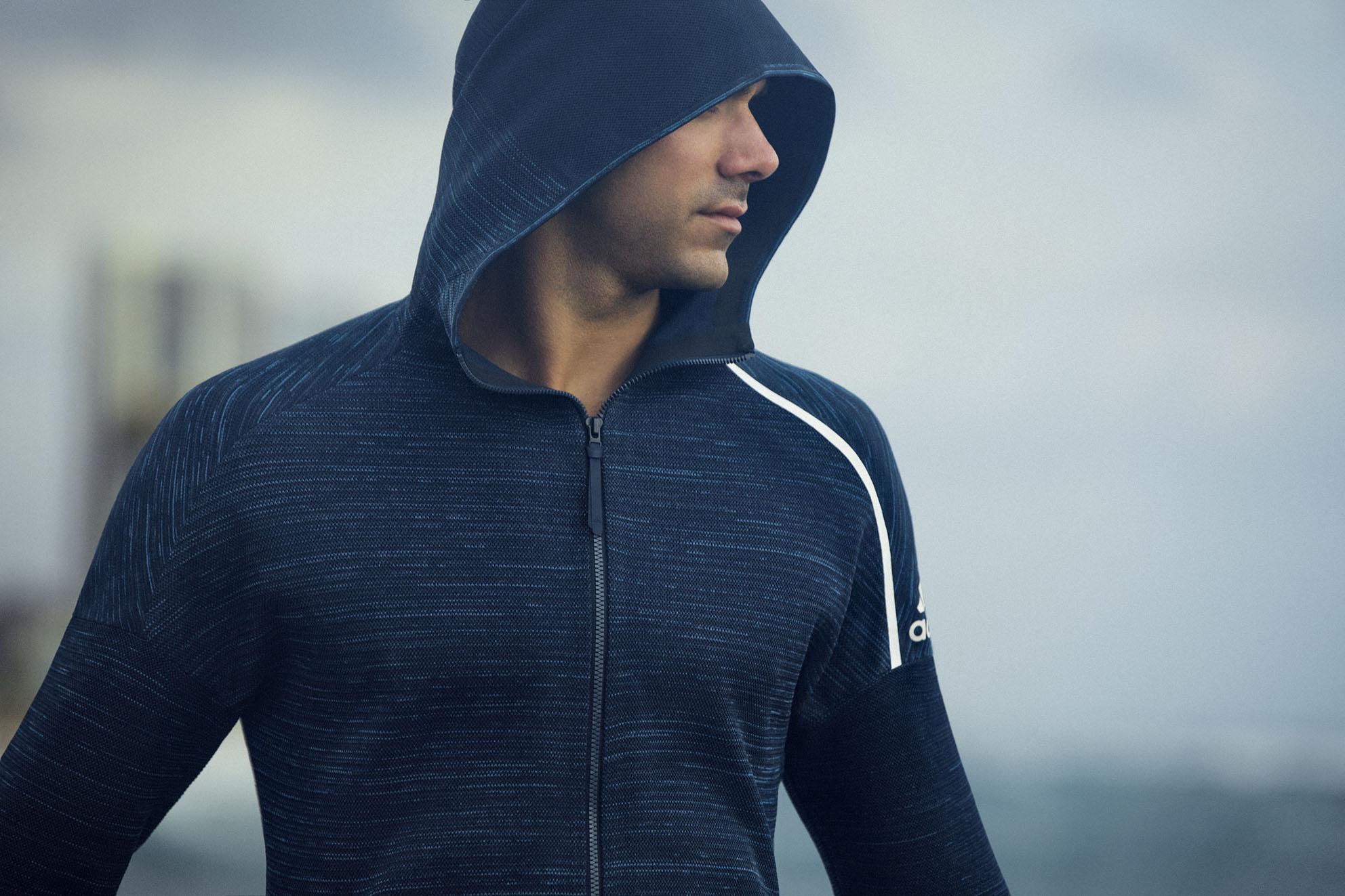 adidas ZNE hoodie parley ocean plastic