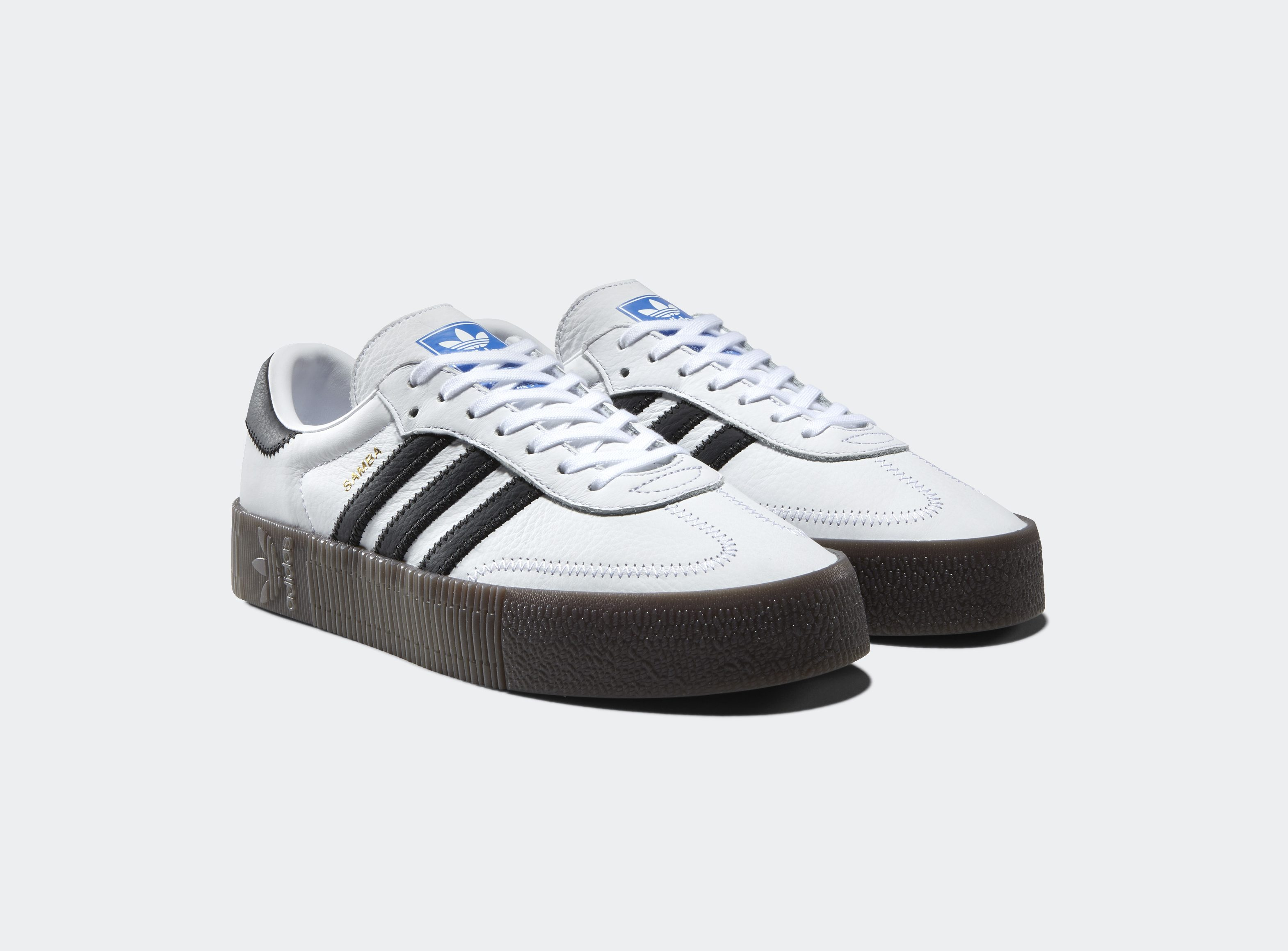 adidas samba rose womens white