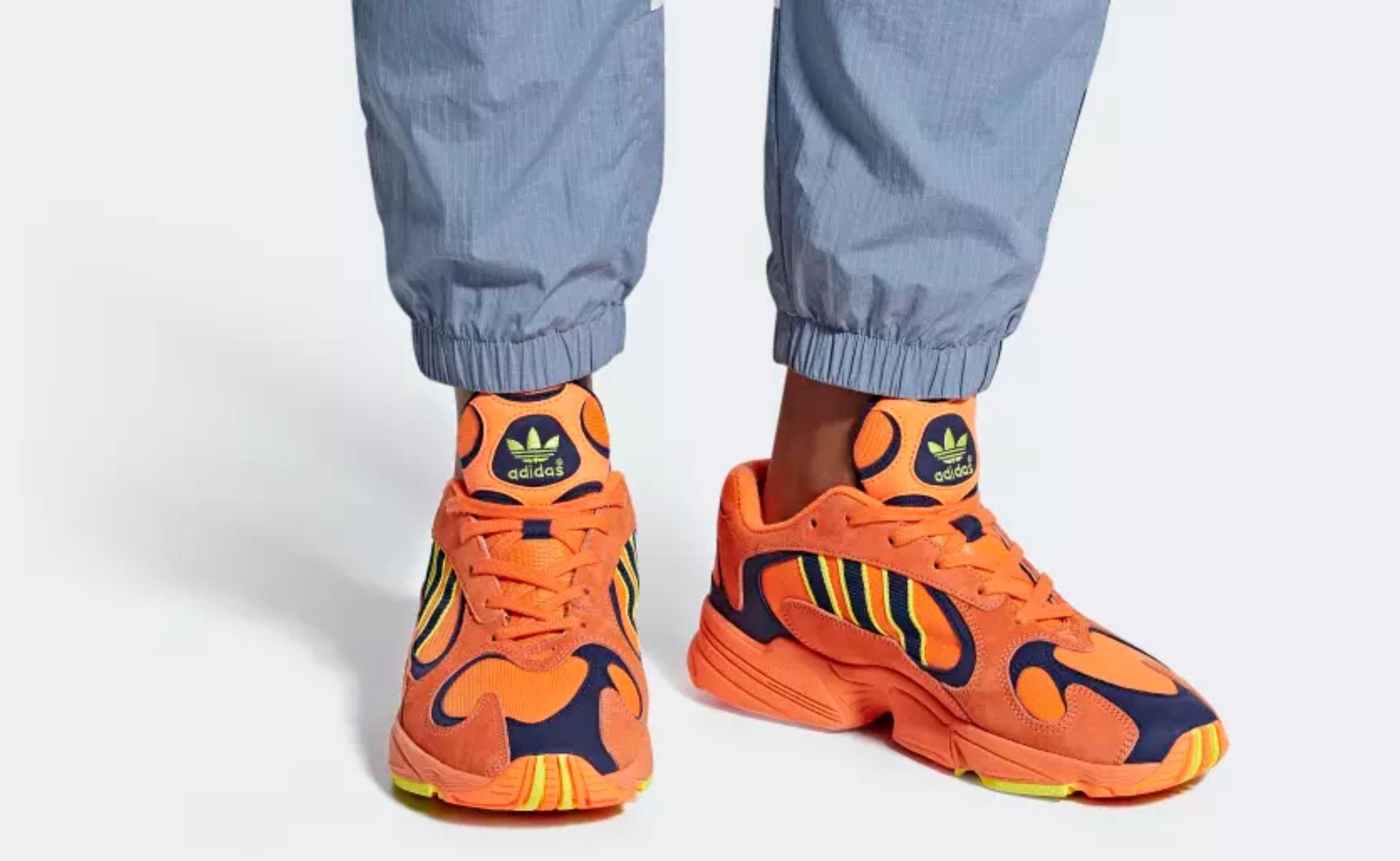 adidas yung-1 on foot