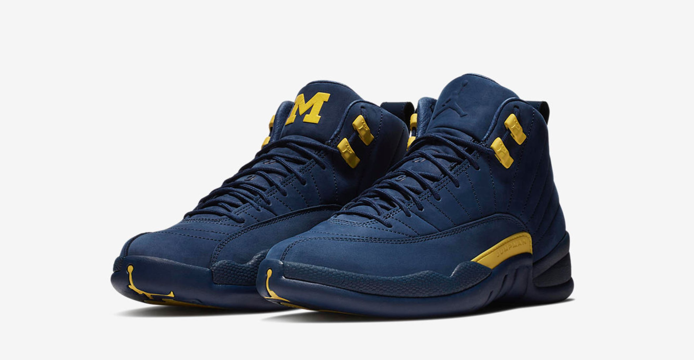 air jordan 12 univerisy of michigan