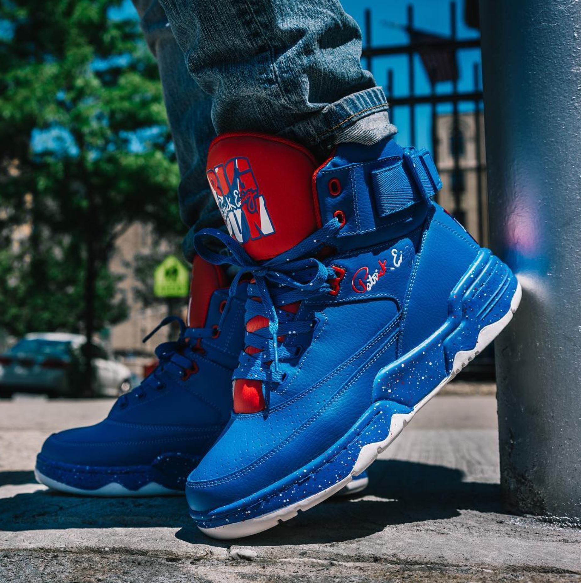 big pun ewing 33 hi puerto rico on foot