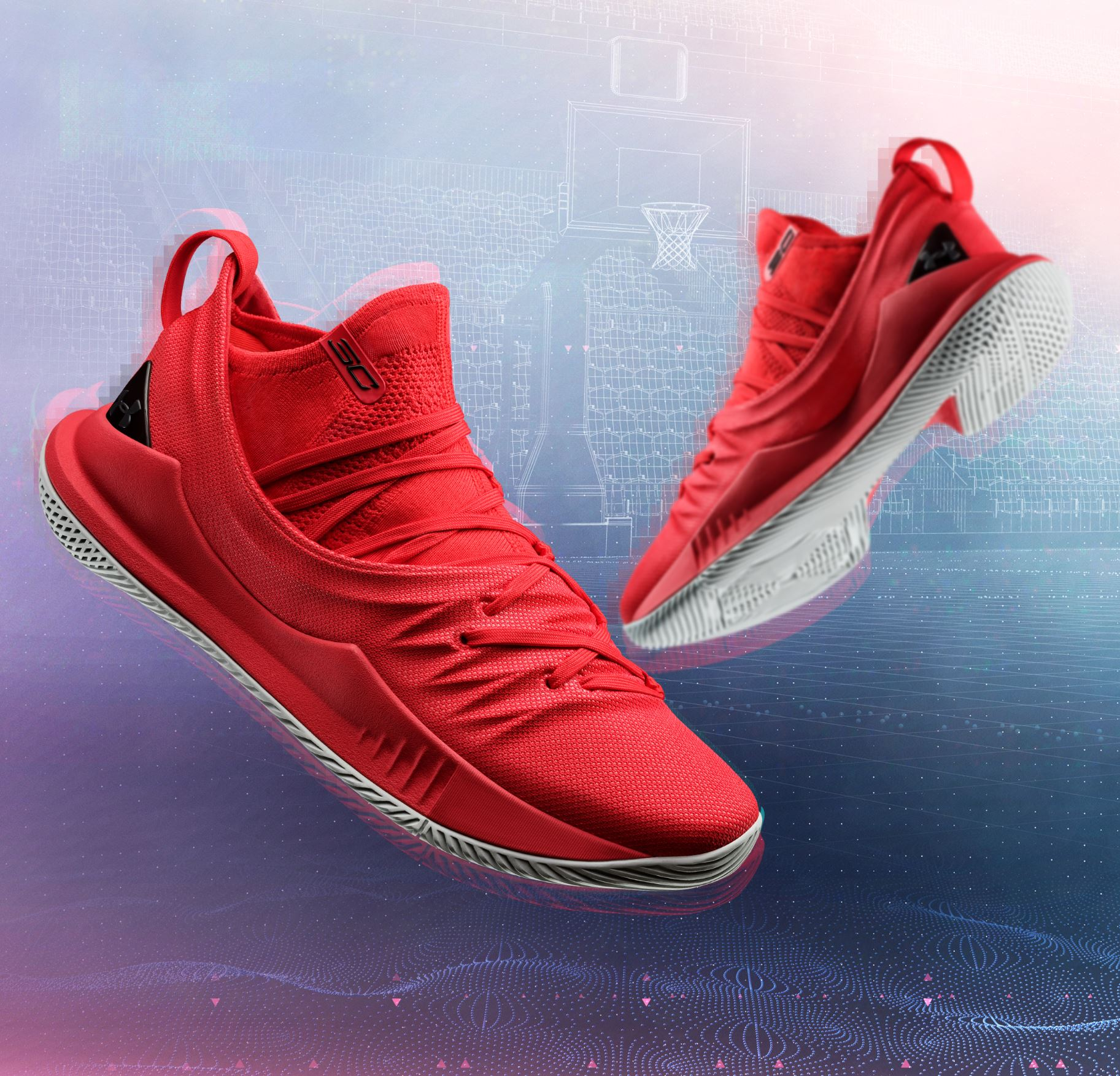 curry 5 fired up